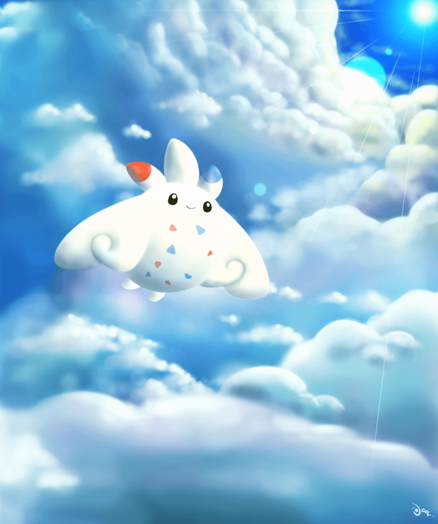 Togekiss by aquabluu on DeviantArt