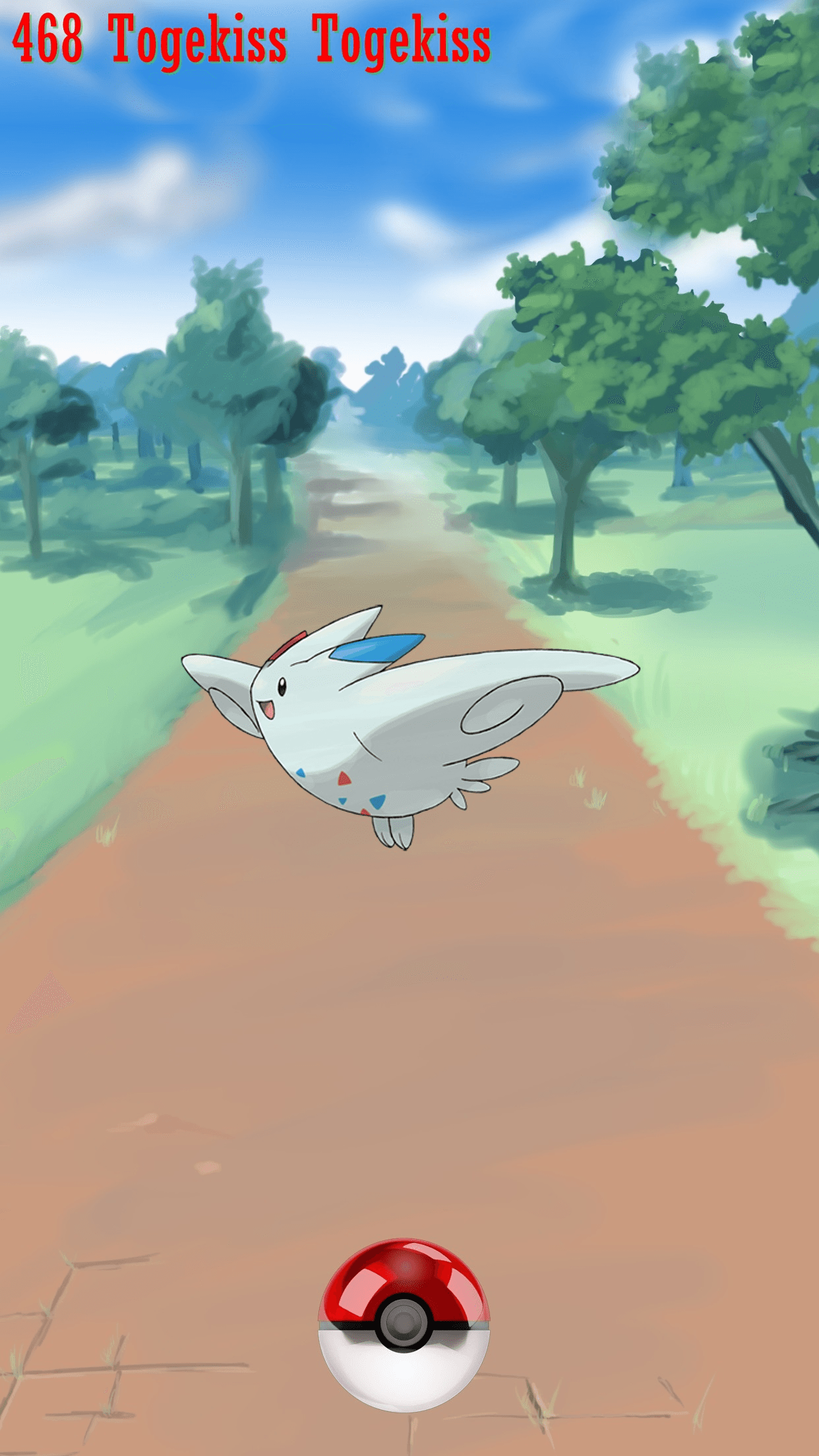 468 Street Pokeball Togekiss Togekiss | Wallpaper