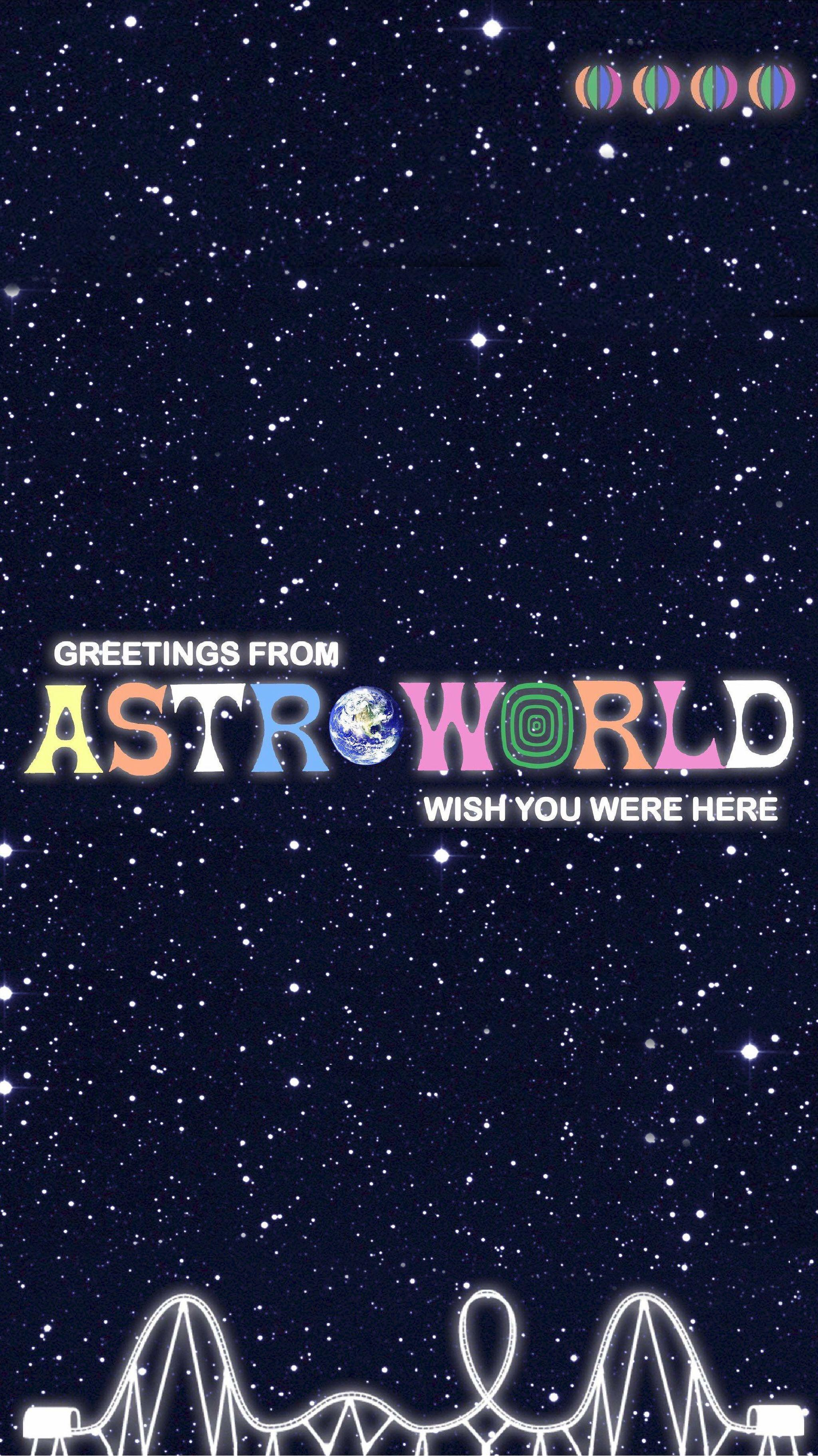 Astroworld Wallpapers Wallpaper Cave