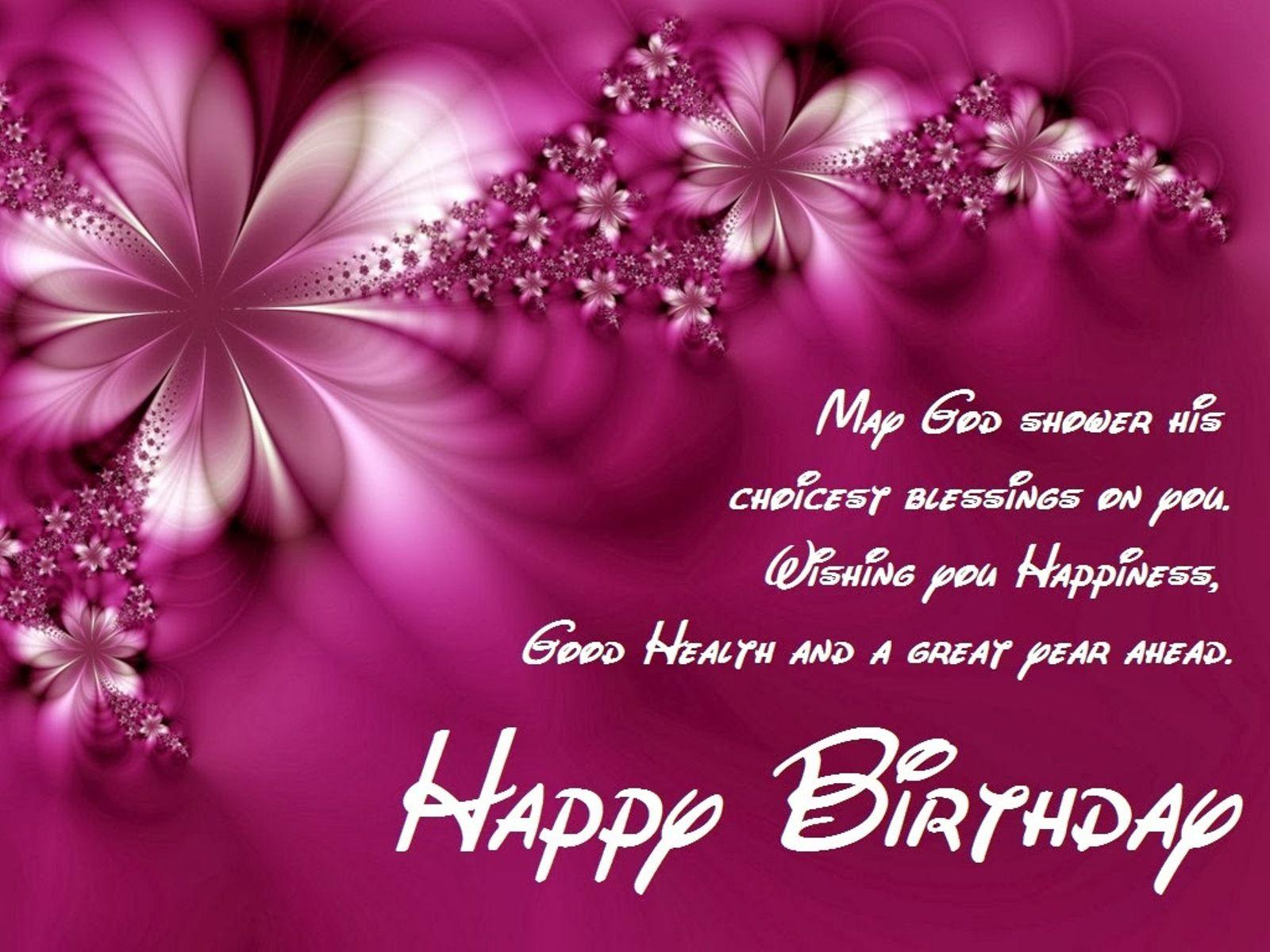 Birthday Wishes Wallpapers Wallpaper Cave