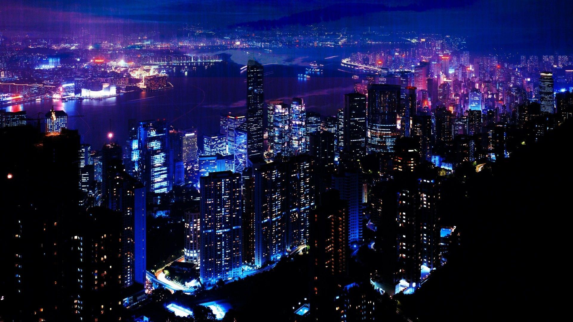 Night Time City Wallpaper 3 - Get HD Wallpapers Free