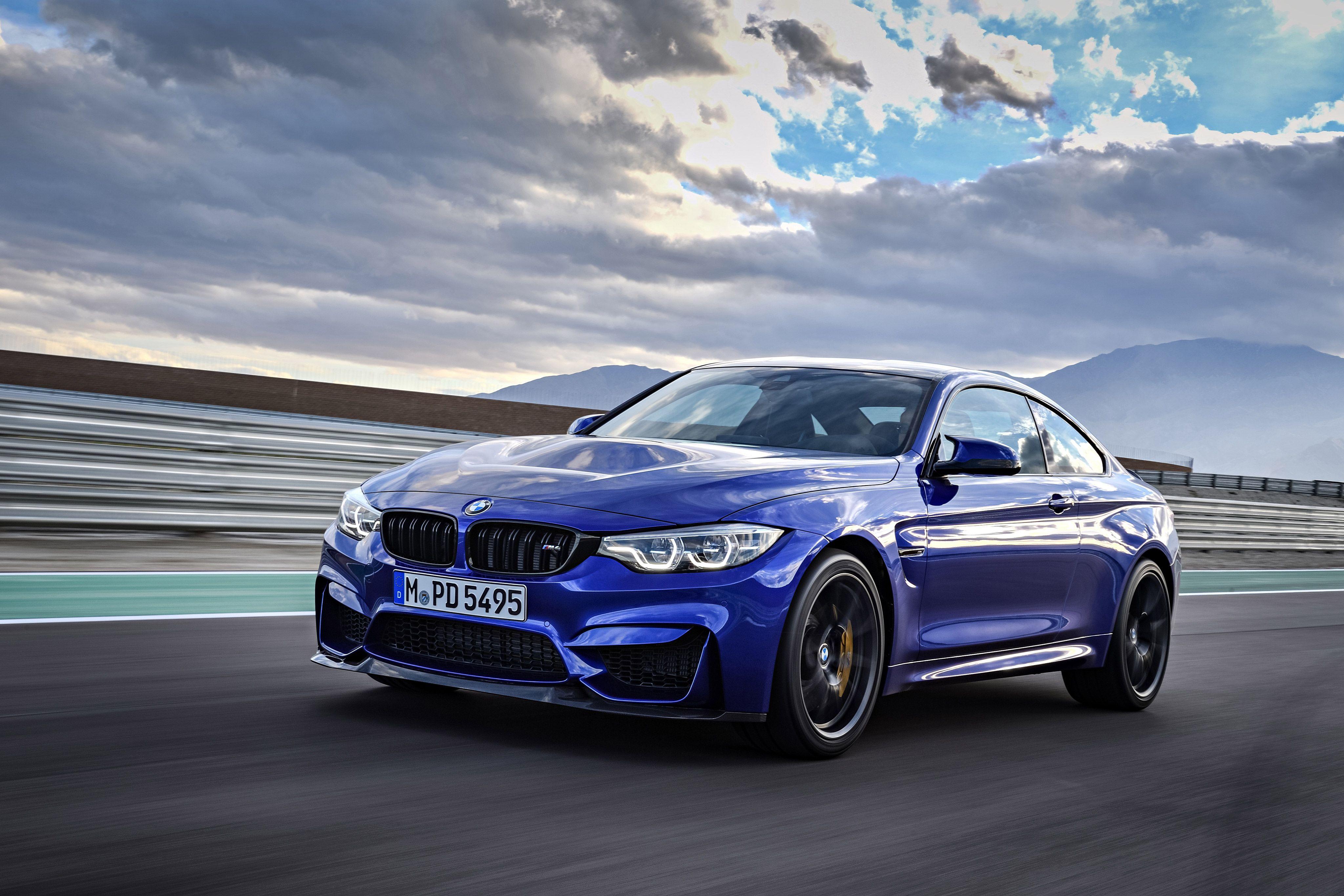 BMW M4 Zoom Video Background