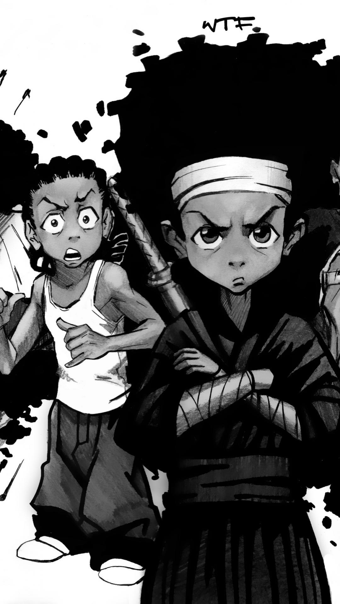 Boondocks Season 4 Wallpapers Wallpaper Cave