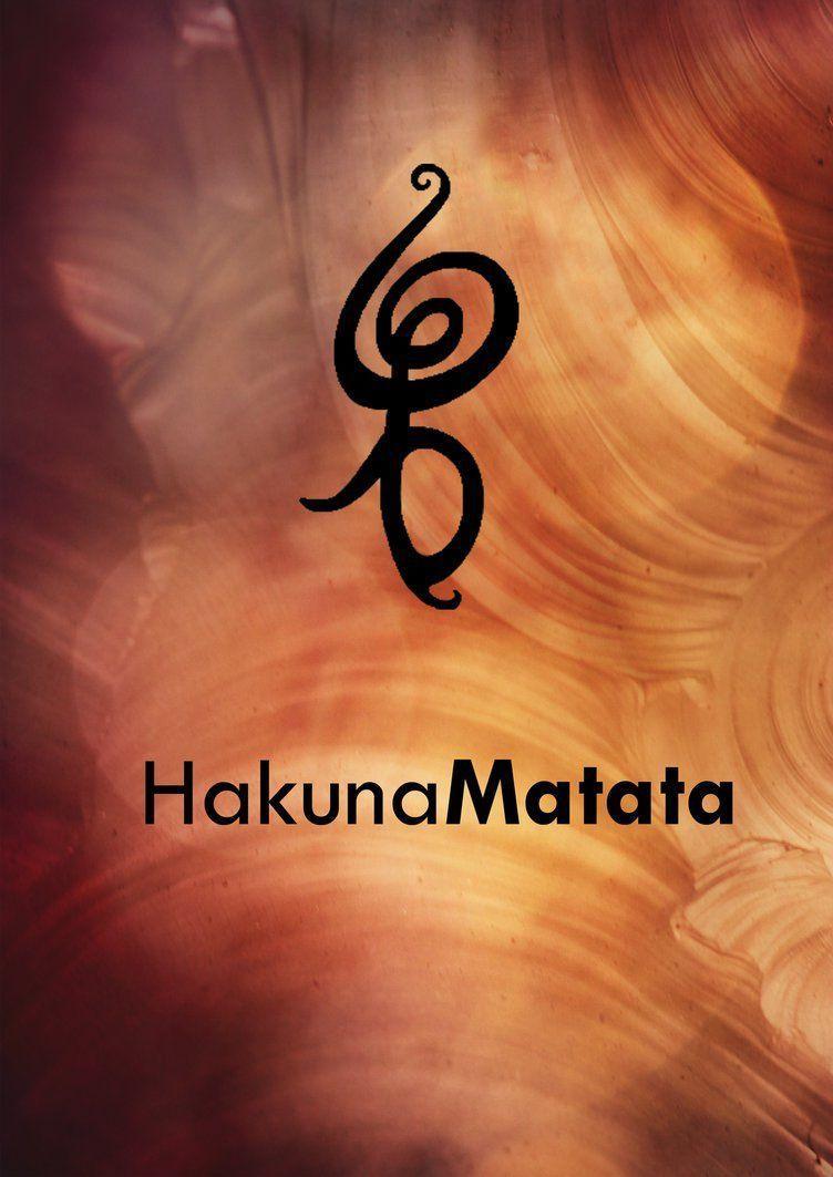 Hakuna Matata Symbol Wallpapers Wallpaper Cave