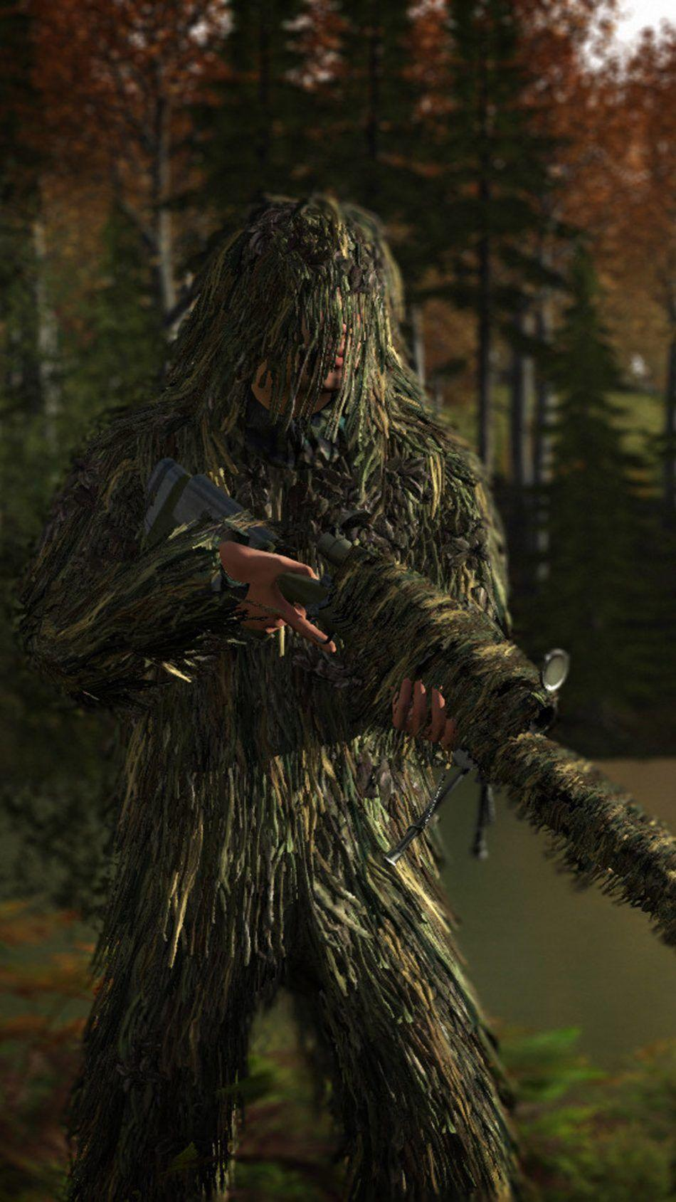 Ghillie Suit PlayerUnknown's Battlegrounds