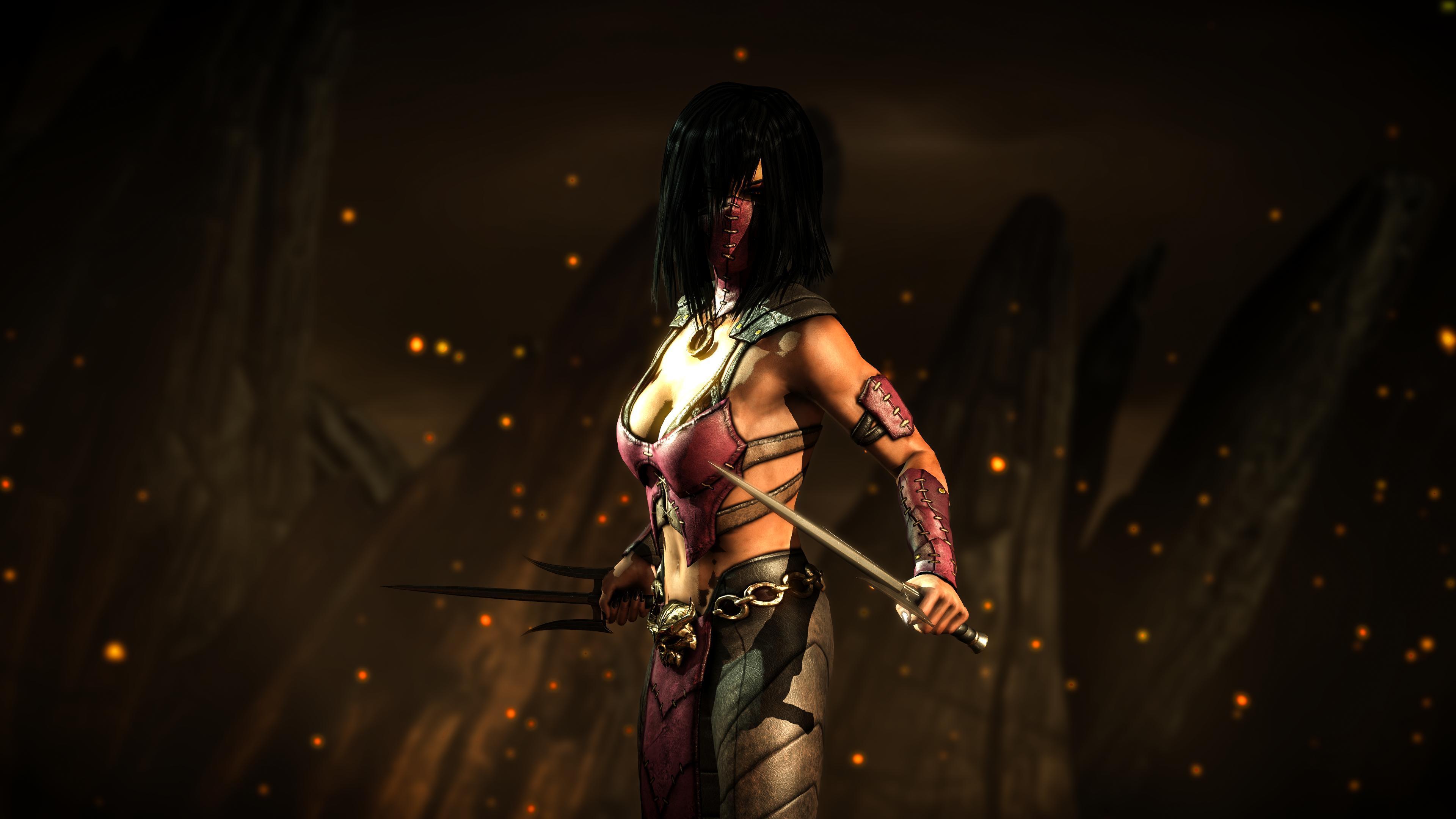 Mortal Kombat Mileena Wallpapers Wallpaper Cave