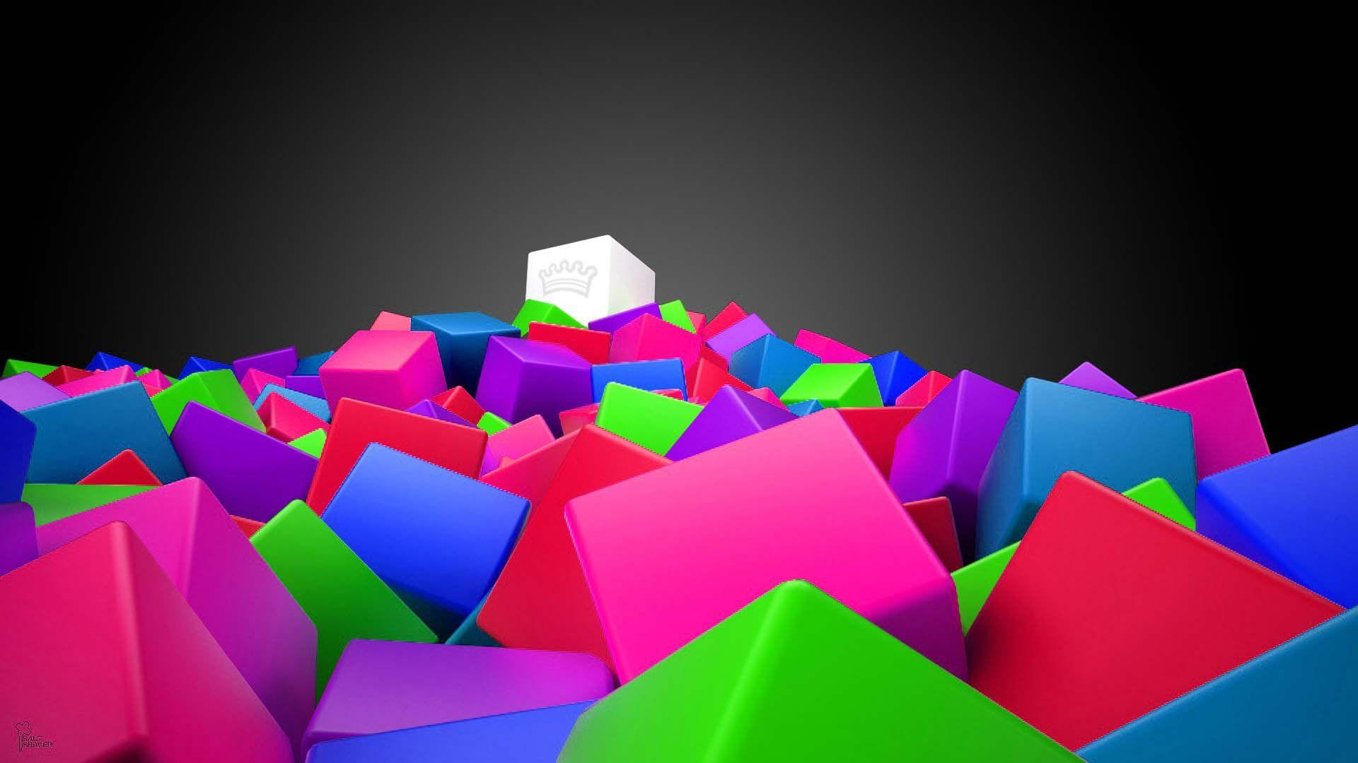 3d Colorful Wallpapers Wallpaper Cave