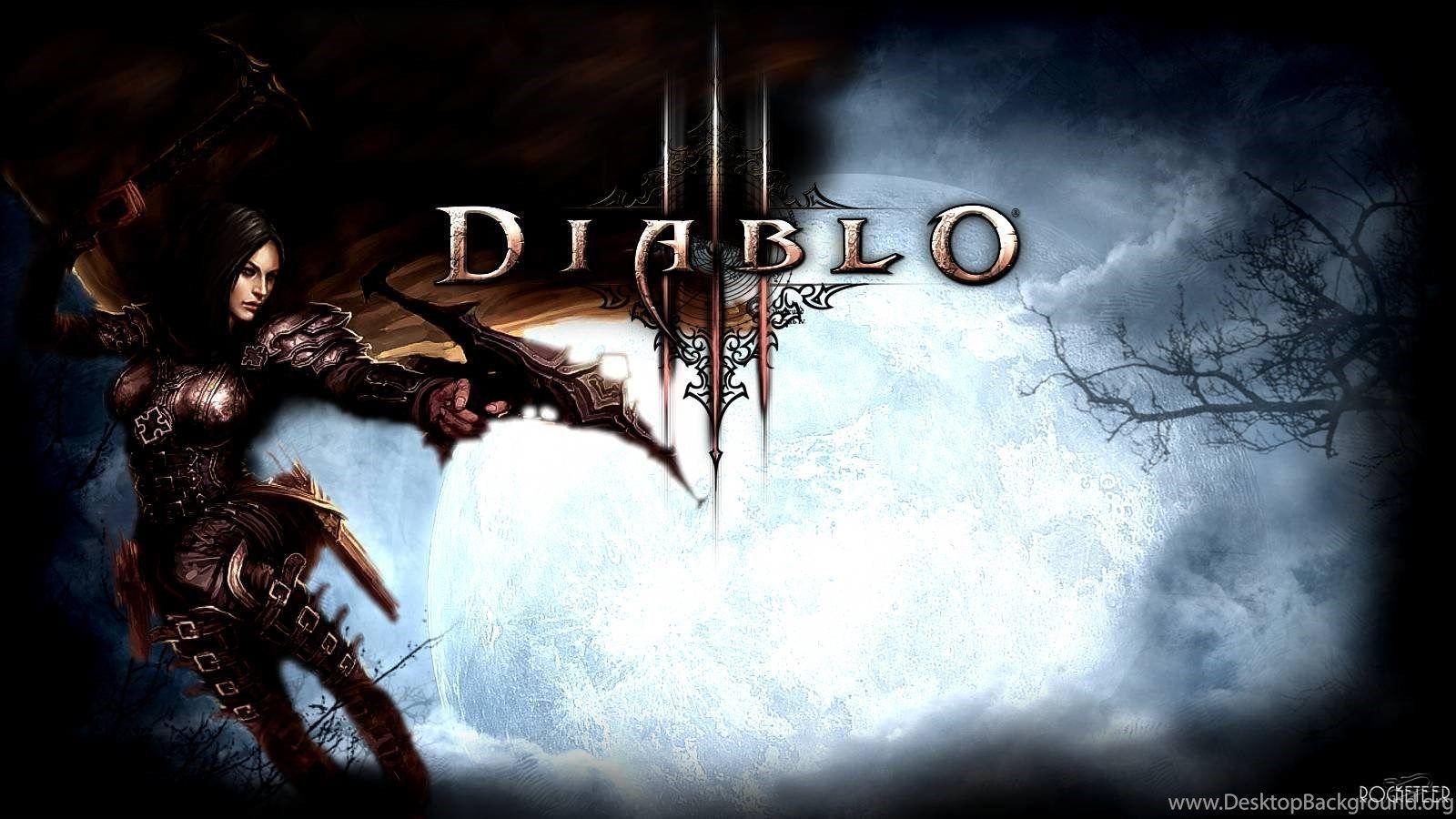 Diablo 3 Demon Hunter Wallpapers Hd Wallpaper Cave