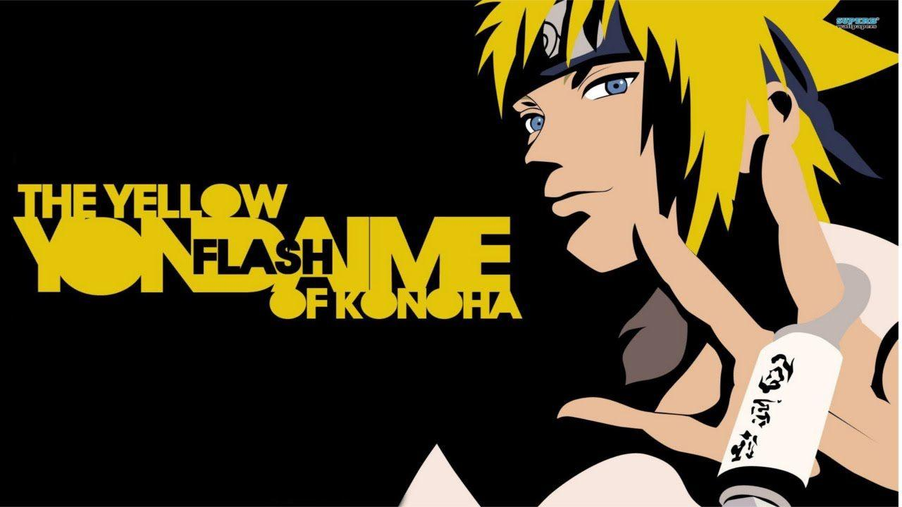 Minato Namikaze Yellow Flash Wallpapers Hd Wallpaper Cave