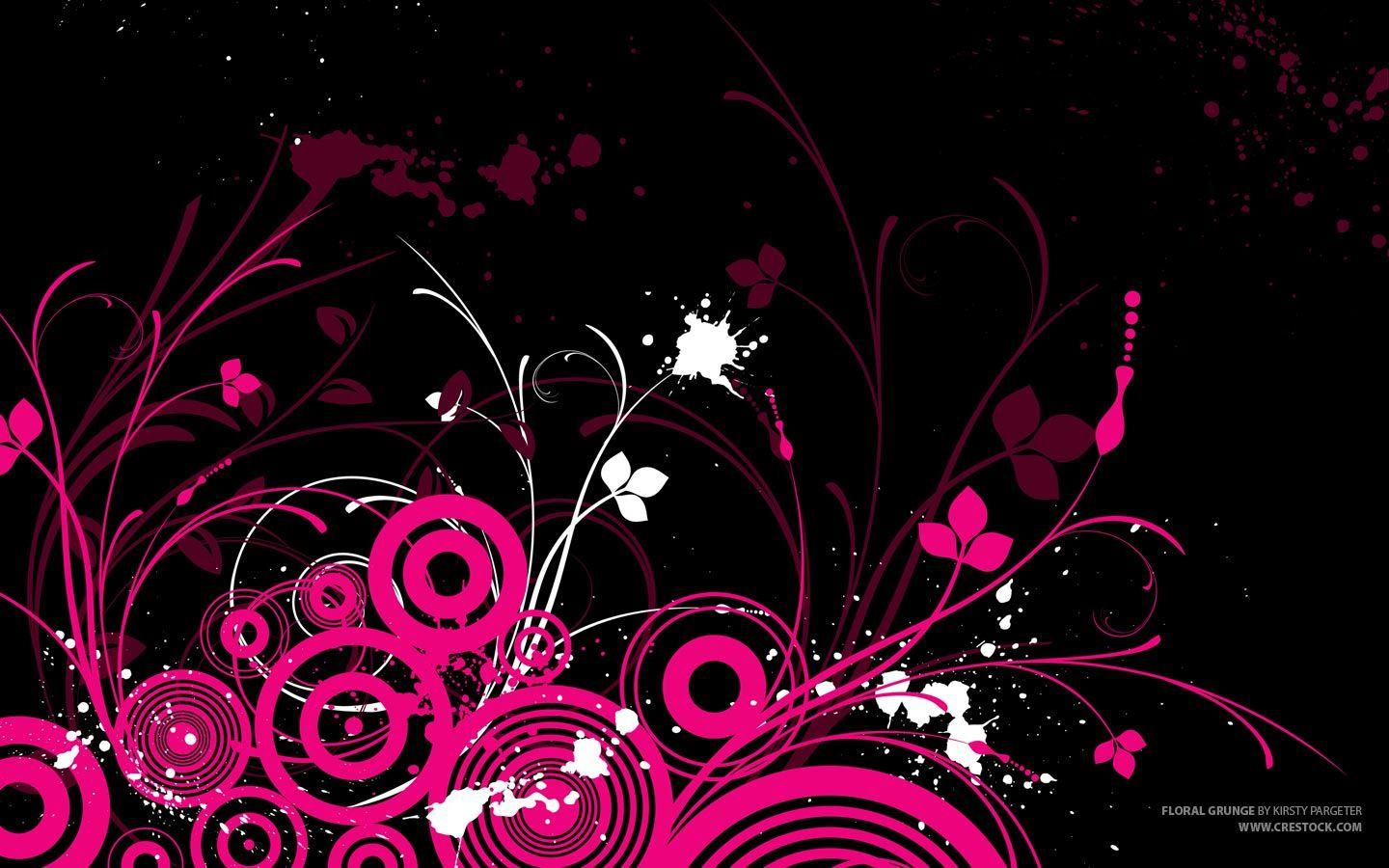 Black And Pink Wallpapers For Phone Wallpaper Cave