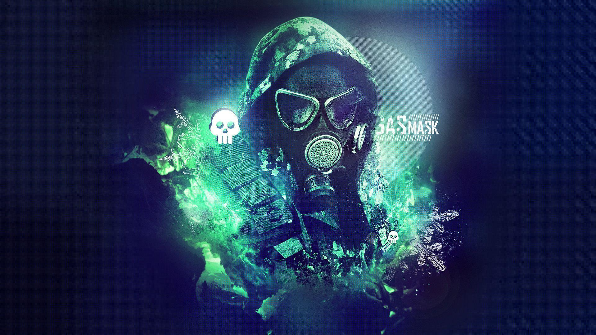 Dubstep Gas Mask Wallpapers Wallpaper Cave