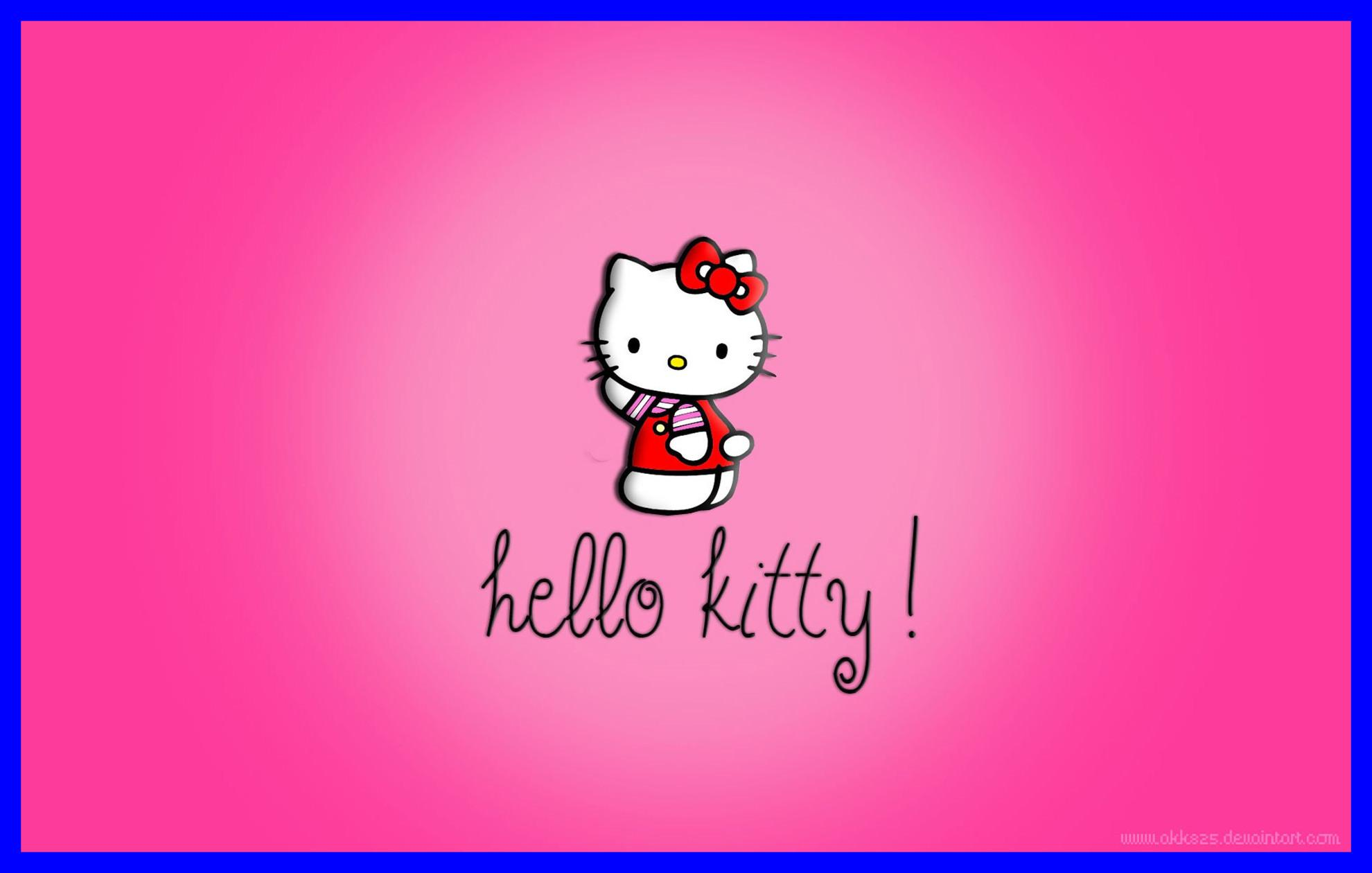 Pink Kitty Wallpapers Wallpaper Cave