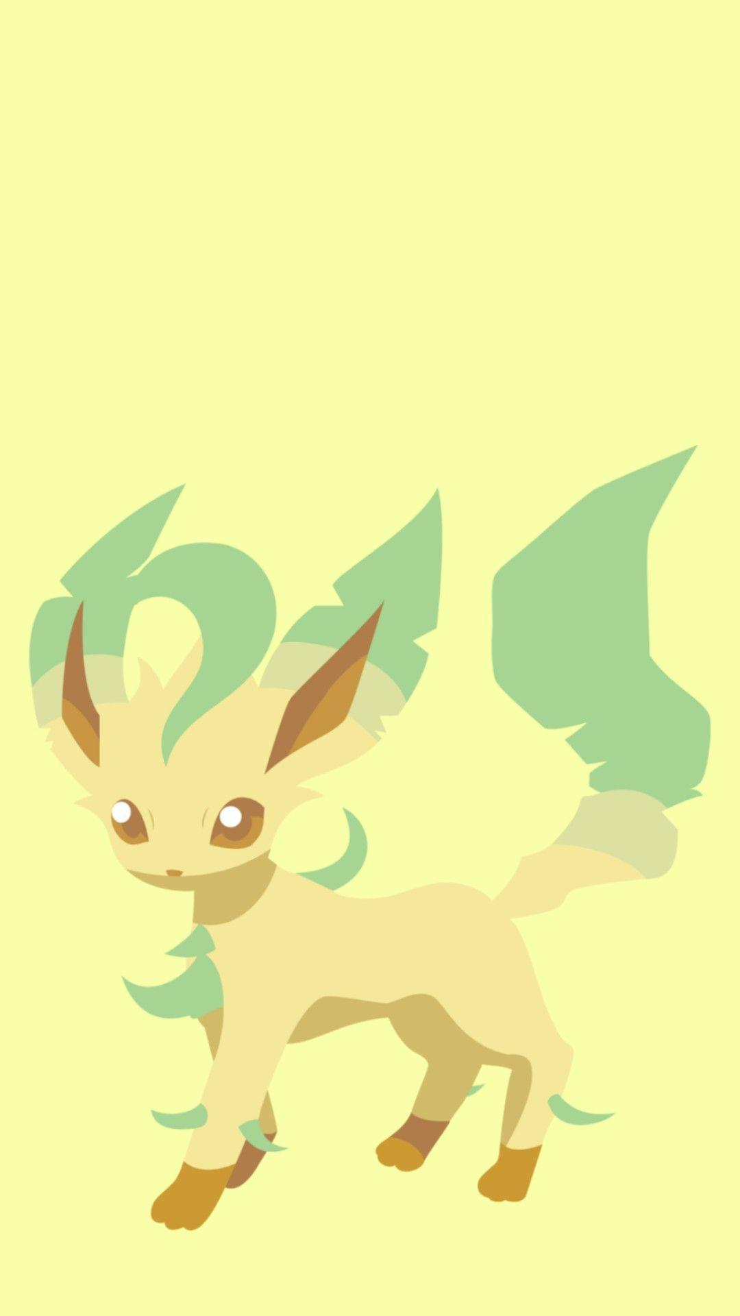 wallpapers leafeon♡♡