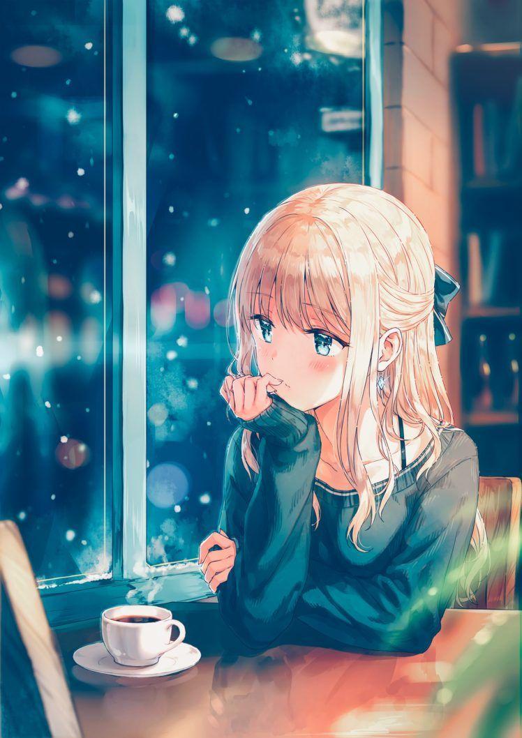 Anime Girl Long Hair Wallpapers Wallpaper Cave