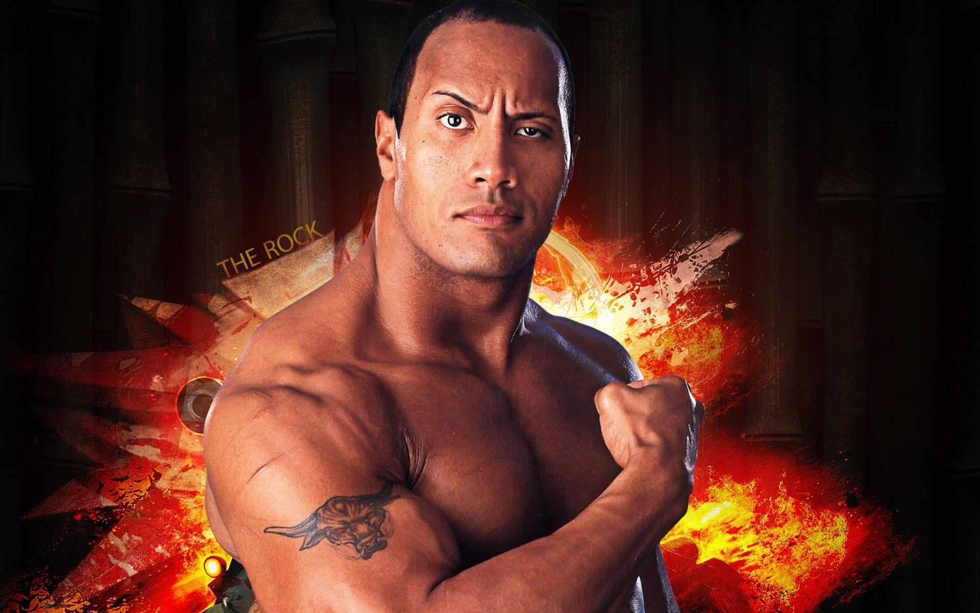 Wwe The Rock Mobile Free Wallpapers Download