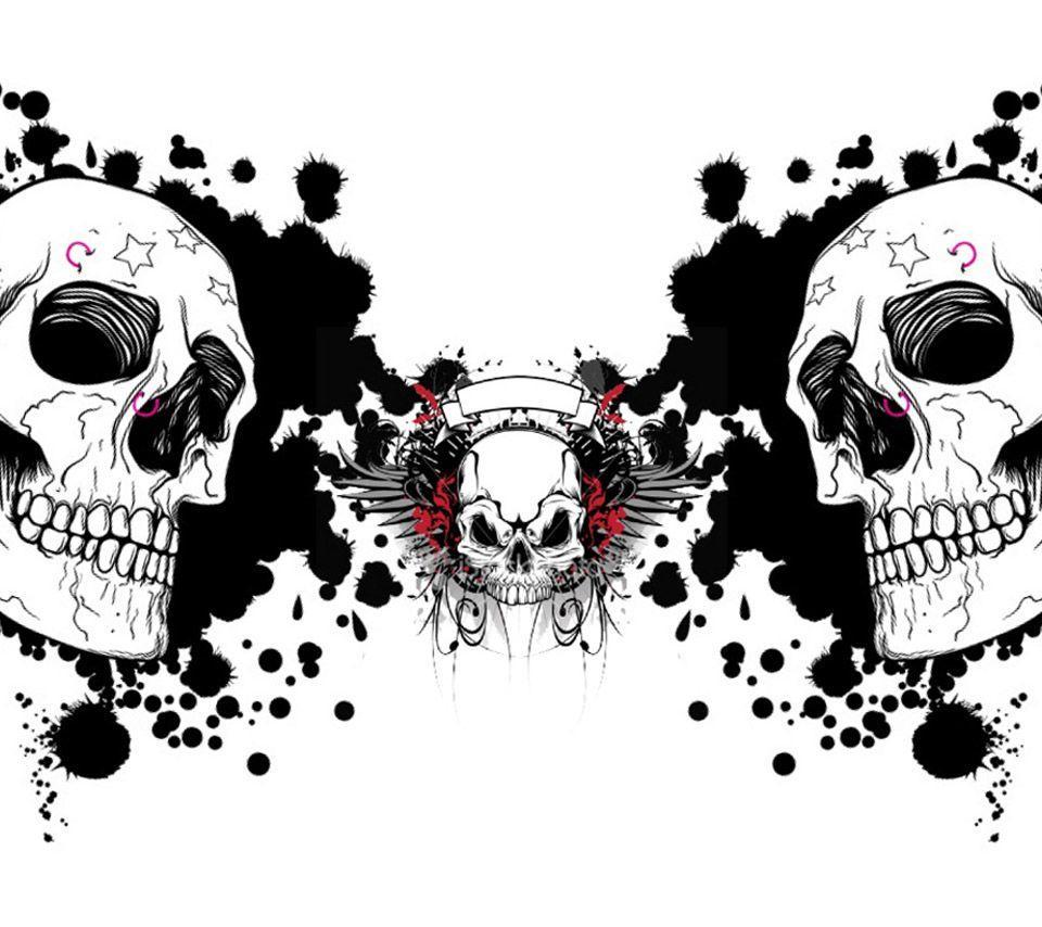 White Skull Wallpapers Wallpaper Cave