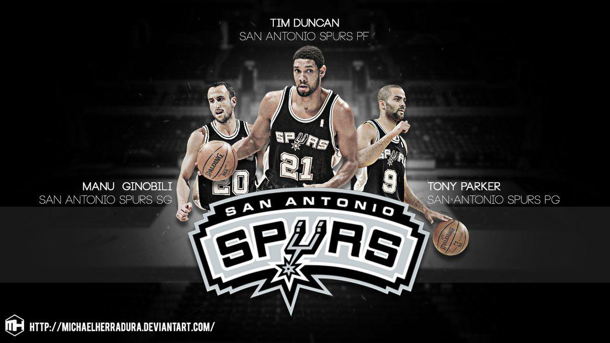 Spurs Big 3 Wallpapers Wallpaper Cave
