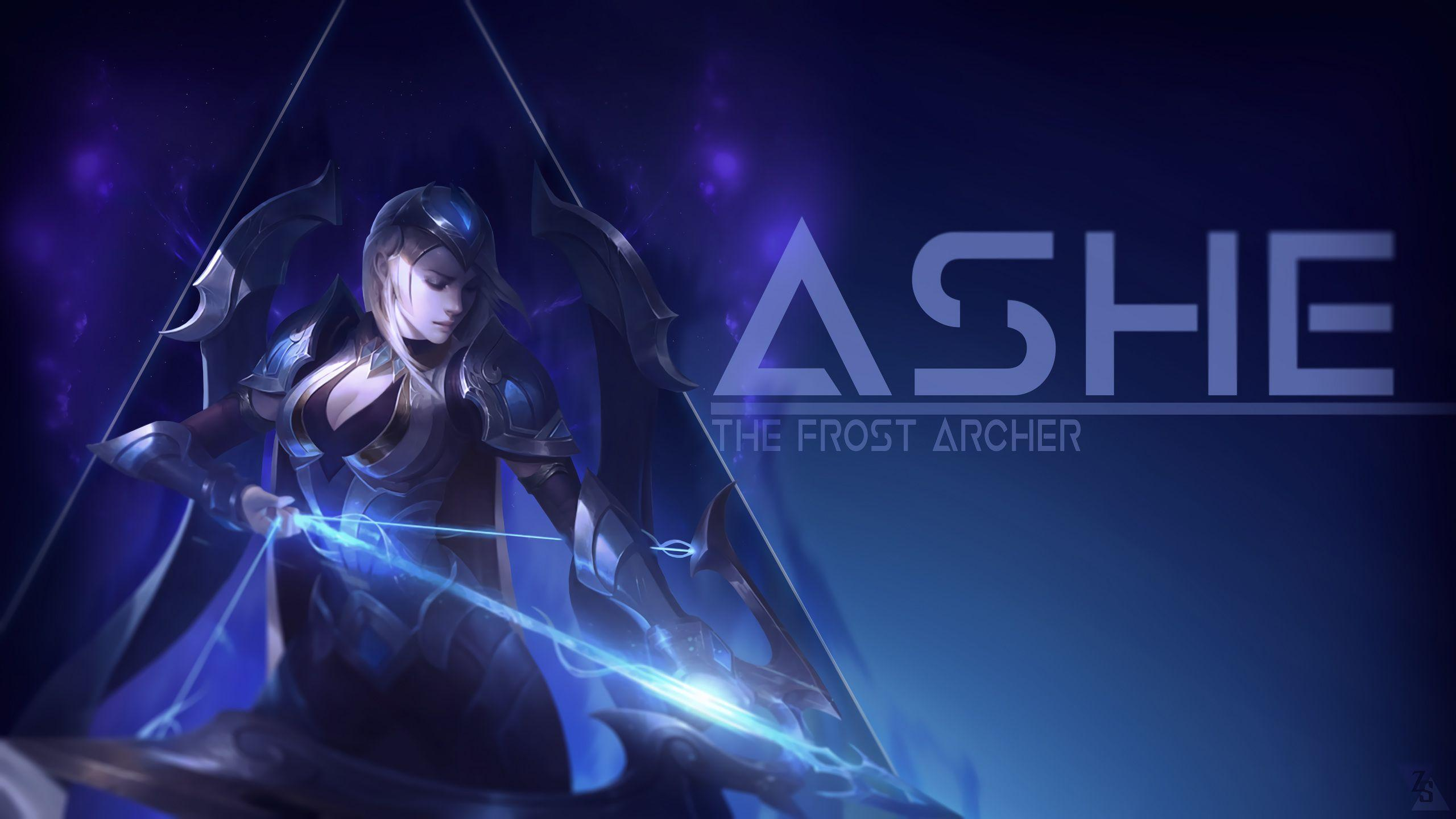 Lol Wallpapers Ashe Wallpaper Cave