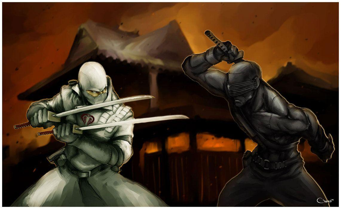 Snake Eyes Vs Storm Shadow Wallpapers Wallpaper Cave