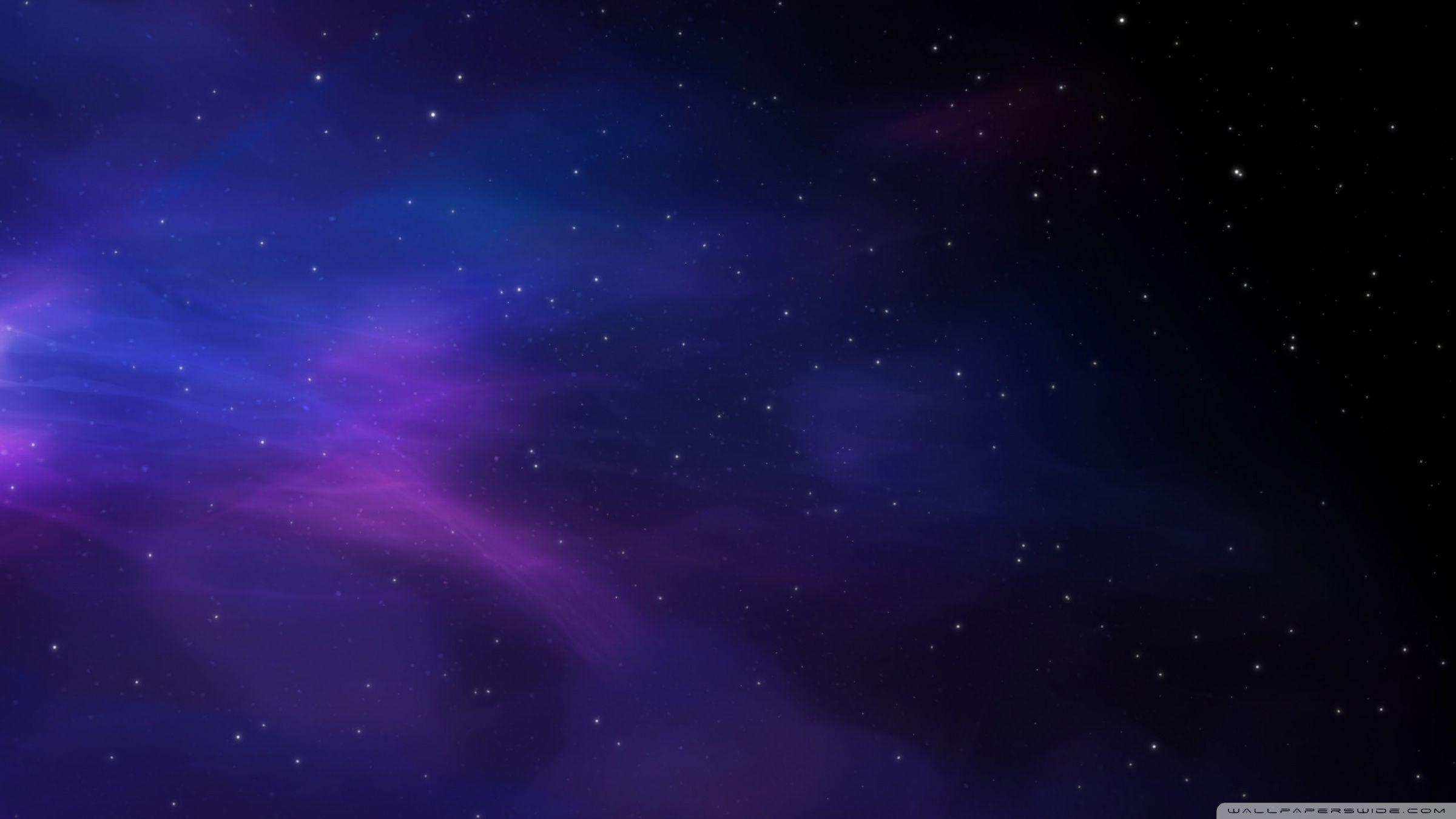 Space Colors Blue Purple Stars ❤ 4K HD Desktop Wallpaper for 4K .