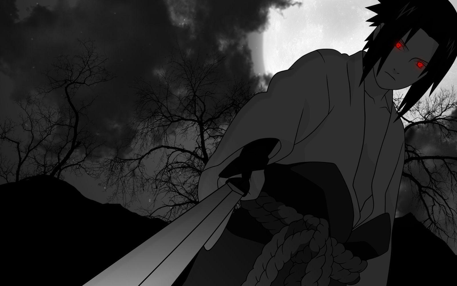 Black Sasuke 4k Desktop Wallpapers Wallpaper Cave