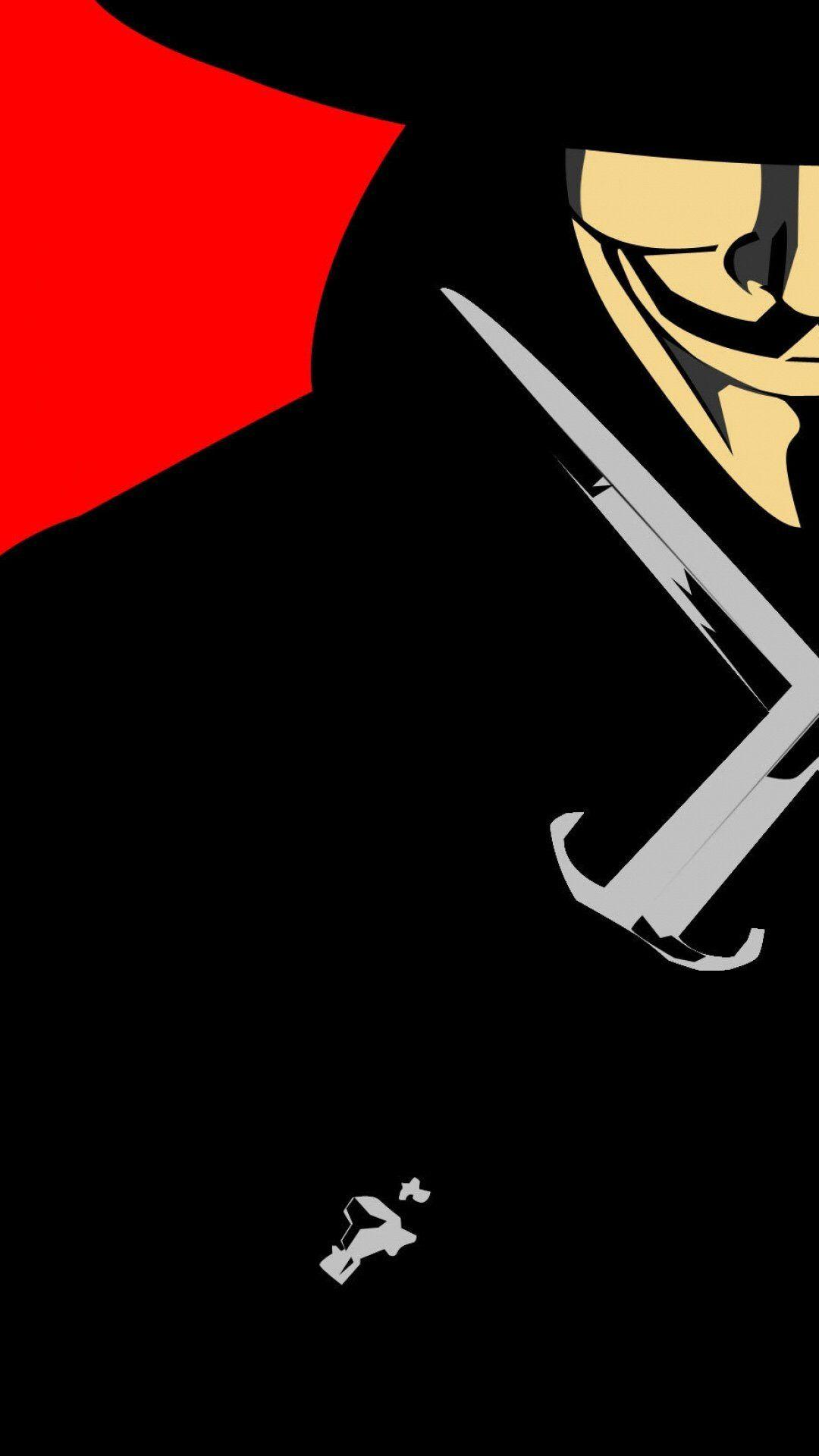 V For Vendetta Mobile Wallpapers Wallpaper Cave