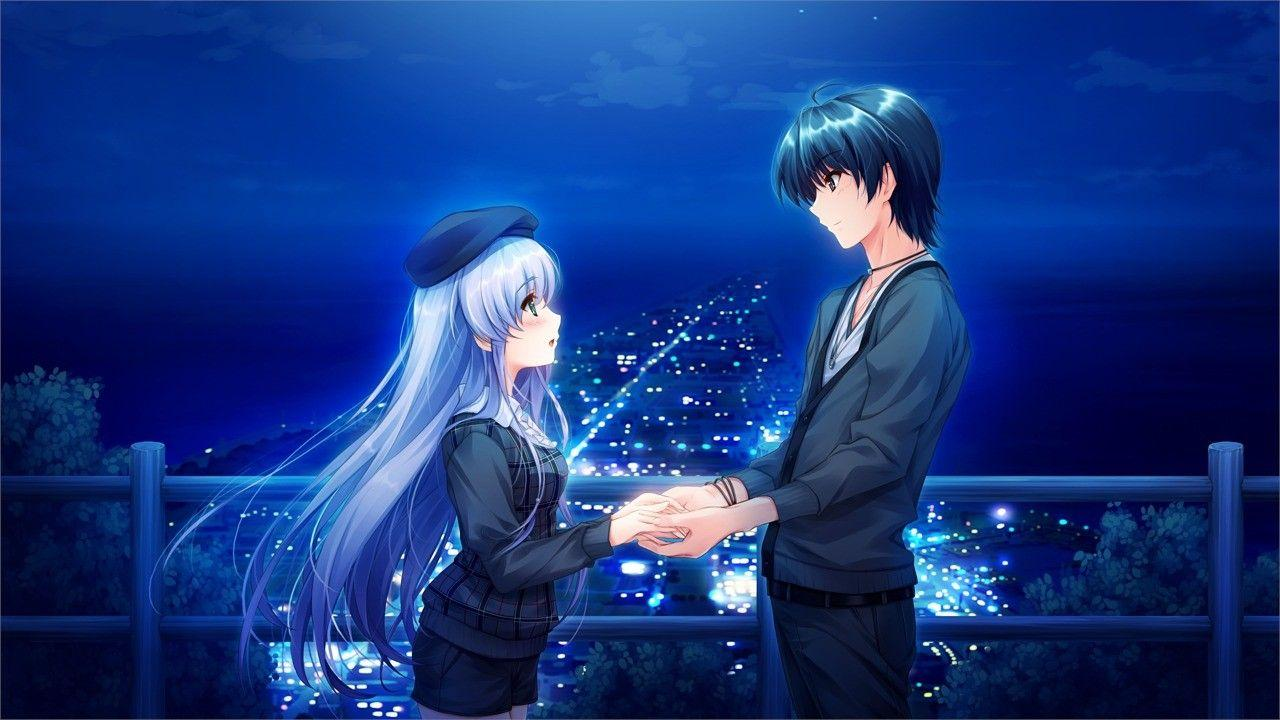 640 Koleksi Wallpaper Anime Romantic Couple Terbaru