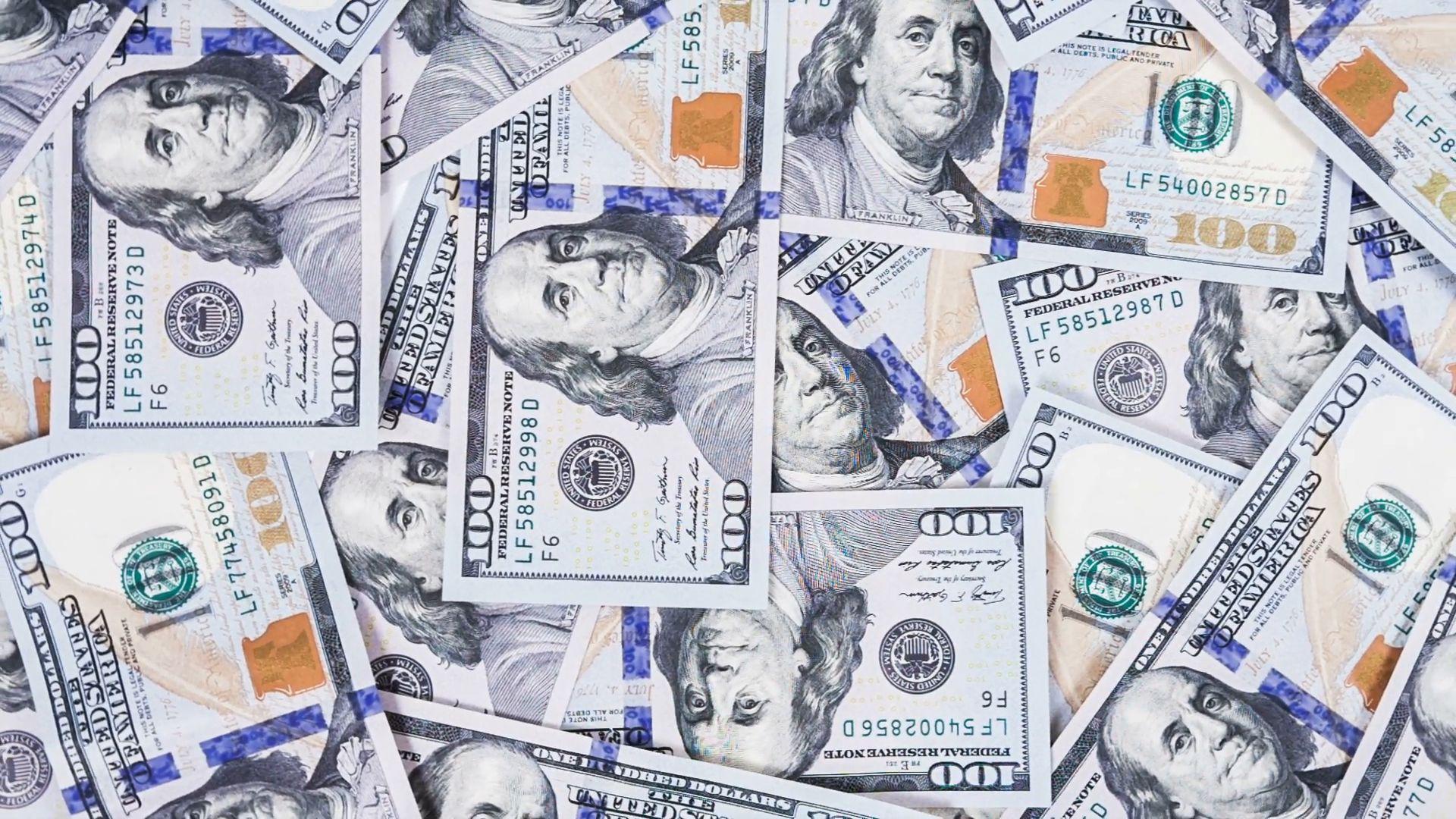 Hundred Dollar Bills Wallpapers Wallpaper Cave