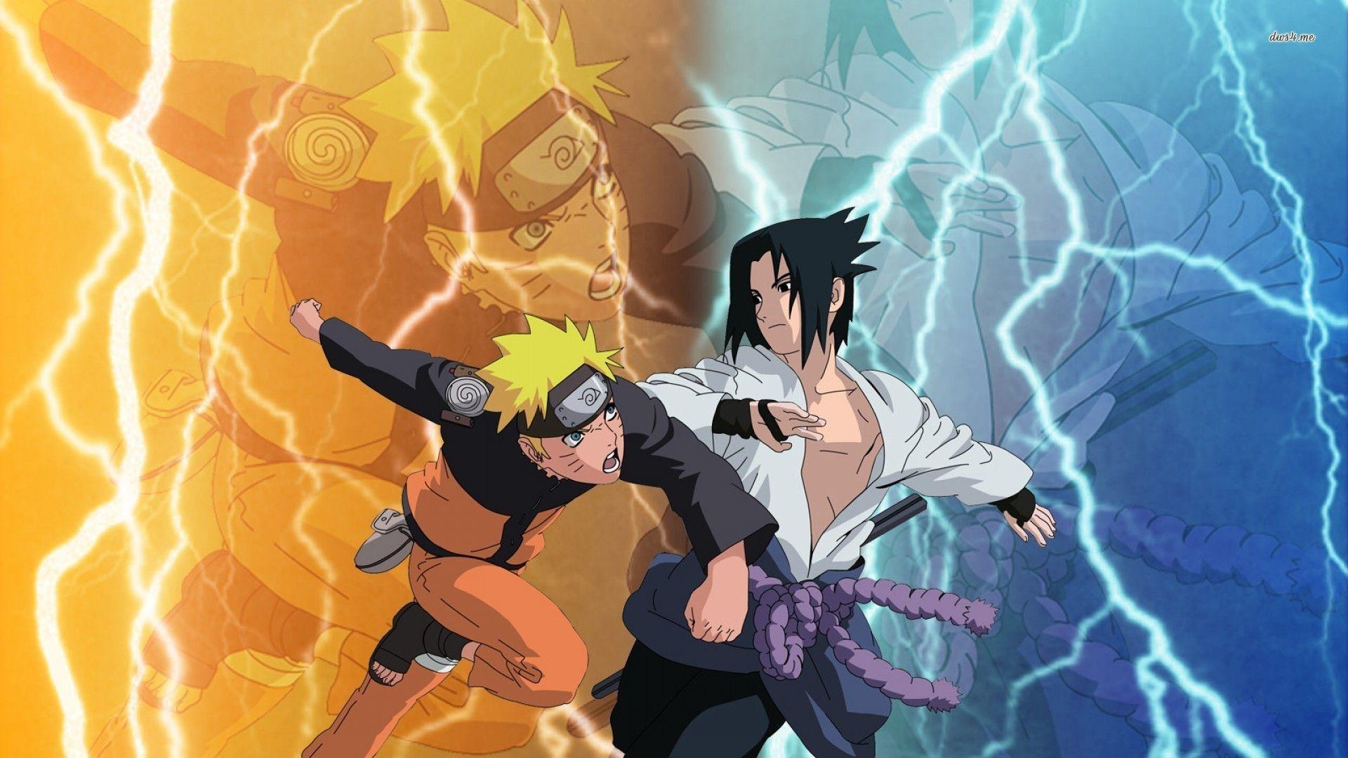 Sasuke Uchiha Vs Naruto Uzumaki Shippuden Wallpapers