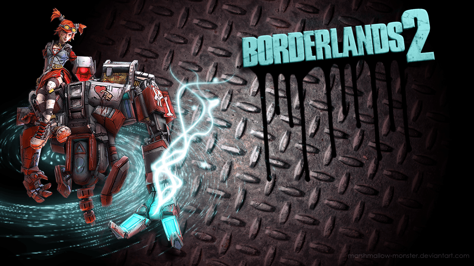 Borderlands 2 Backgrounds HD Mechromancer - Wallpaper Cave
