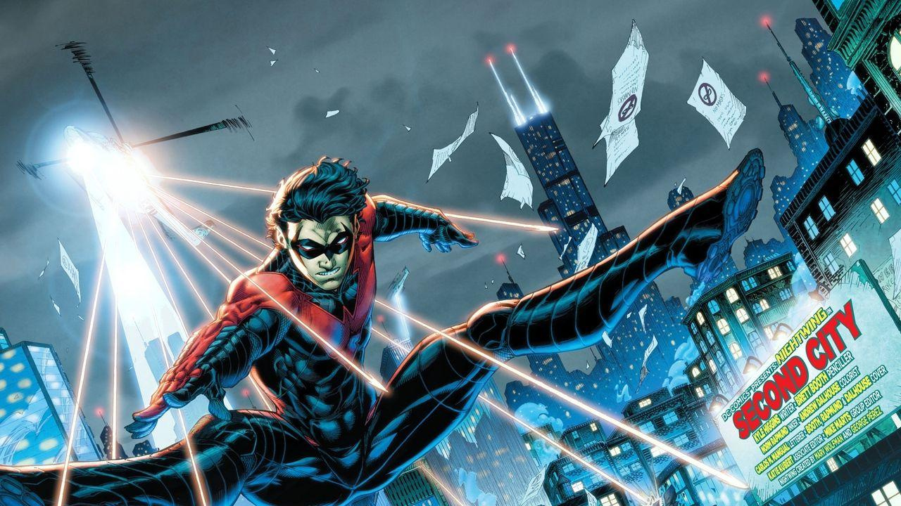 Wallpapers nightwing, dc comics, robin, dick grayson, detective