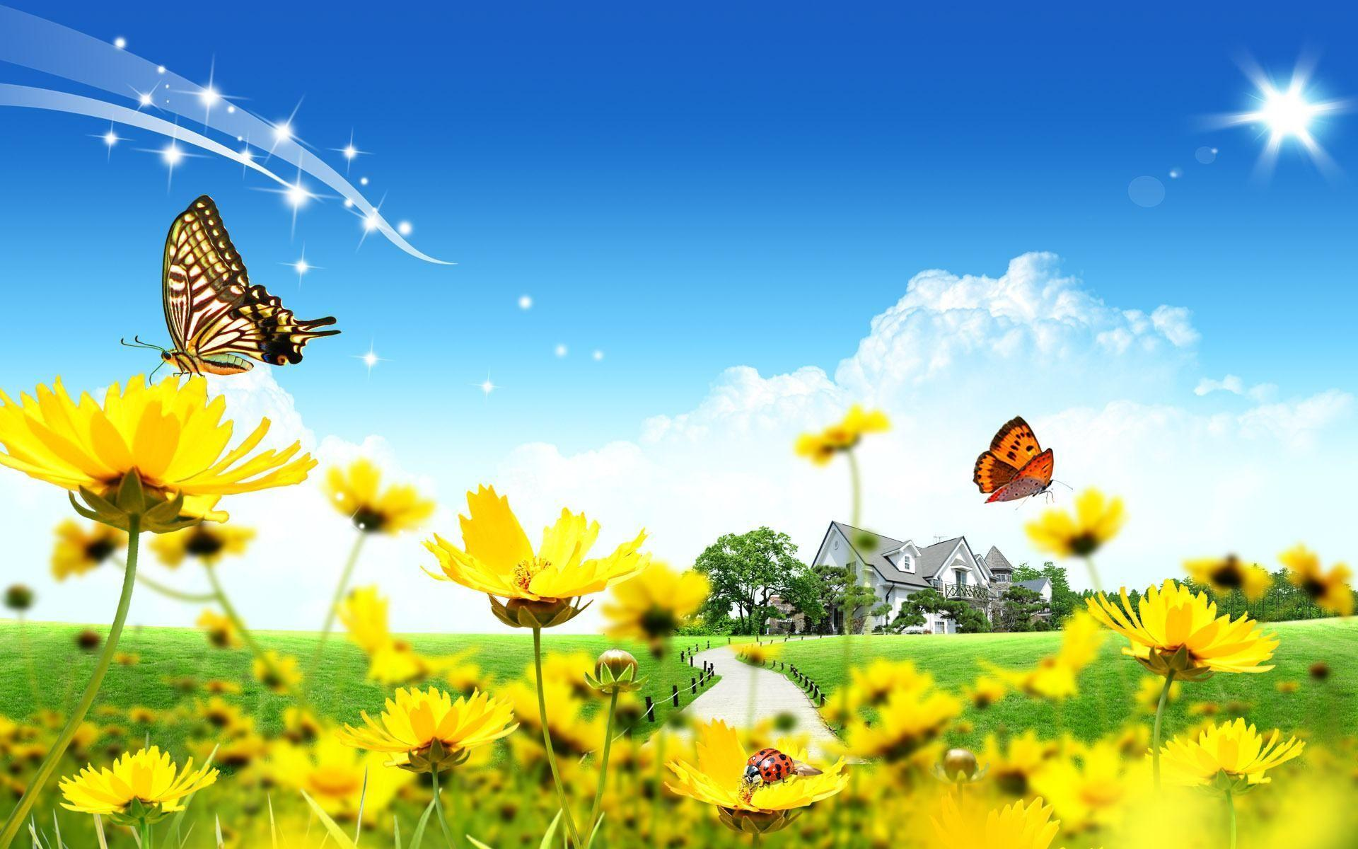 Free Sunny Day Wallpapers 12570