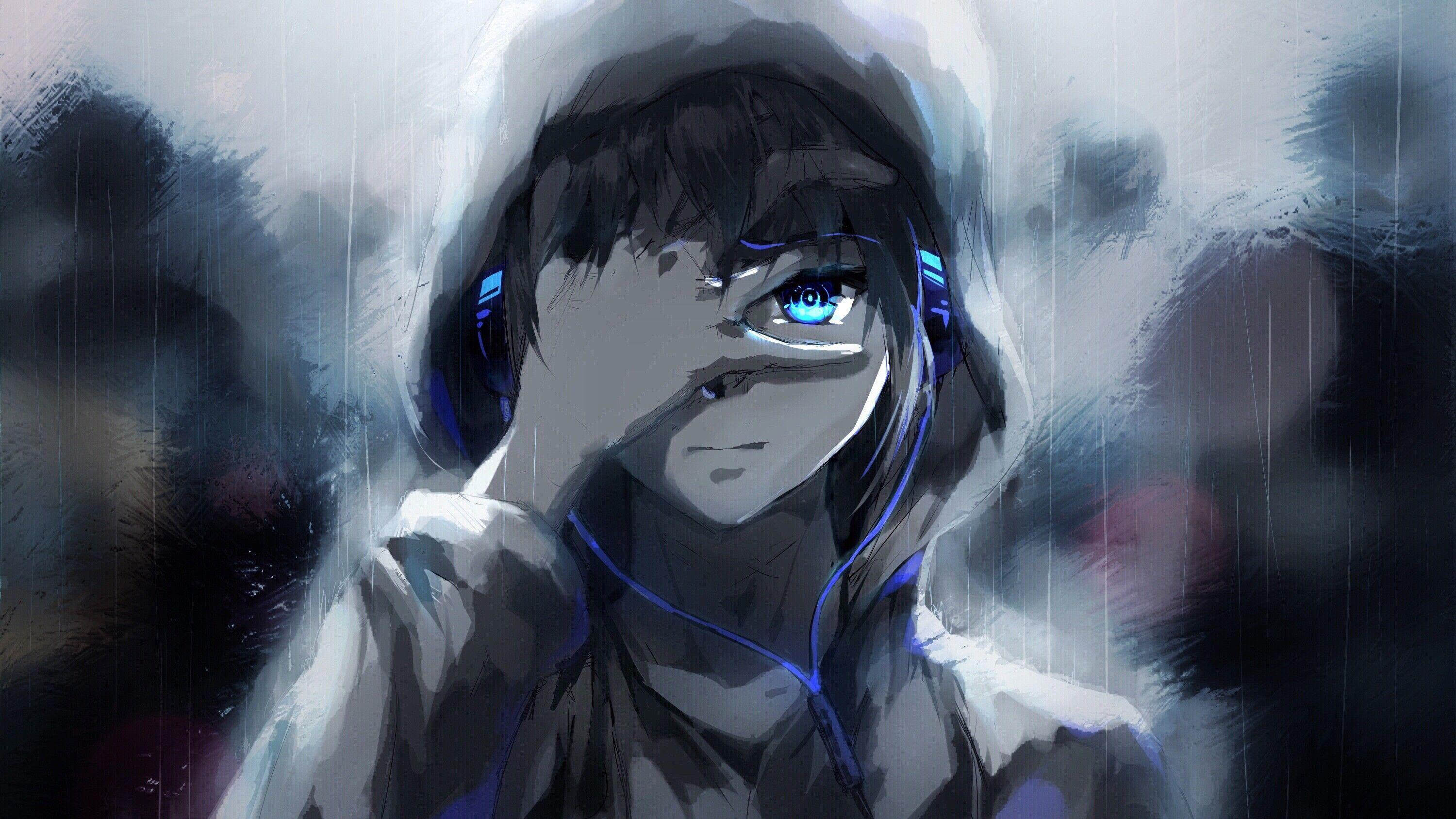 Angry Anime Boy Sketch Wallpapers Wallpaper Cave
