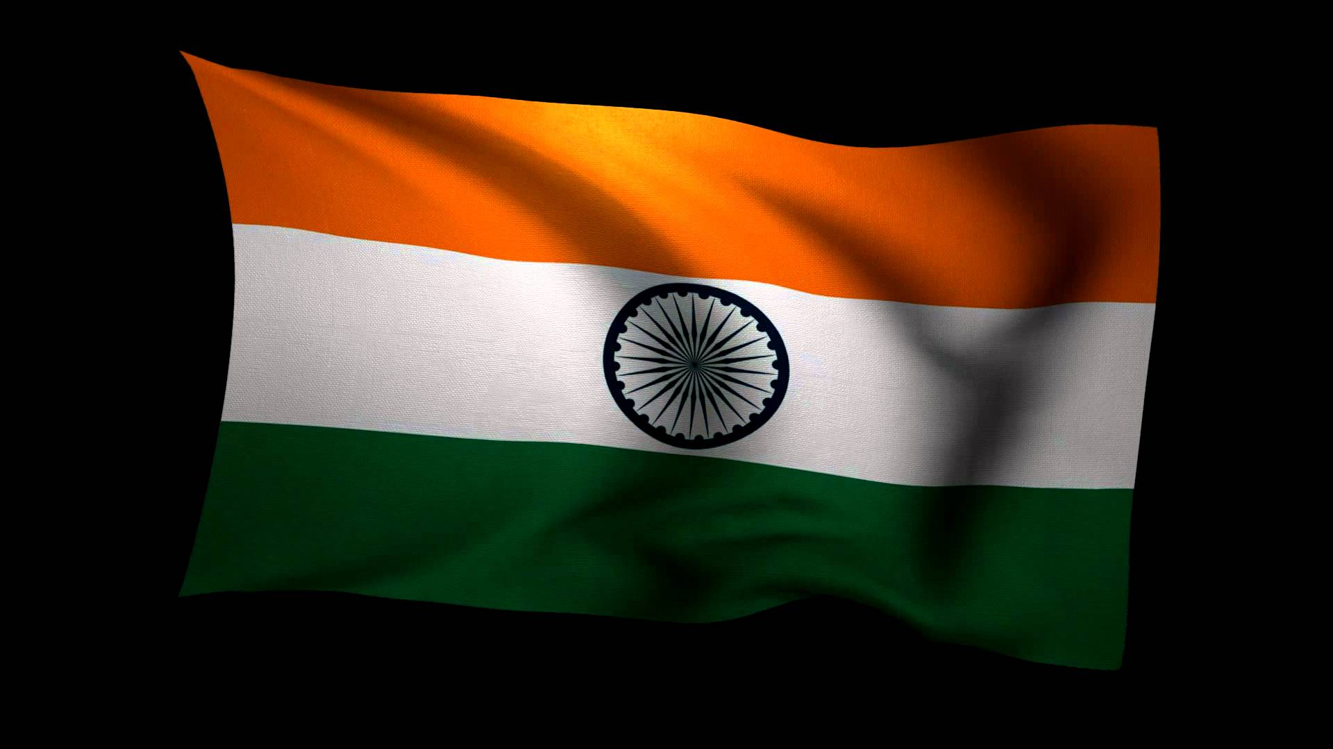 Indian Flag Images Hd720p: Indian Flag With Dark Backgrounds HD Pics