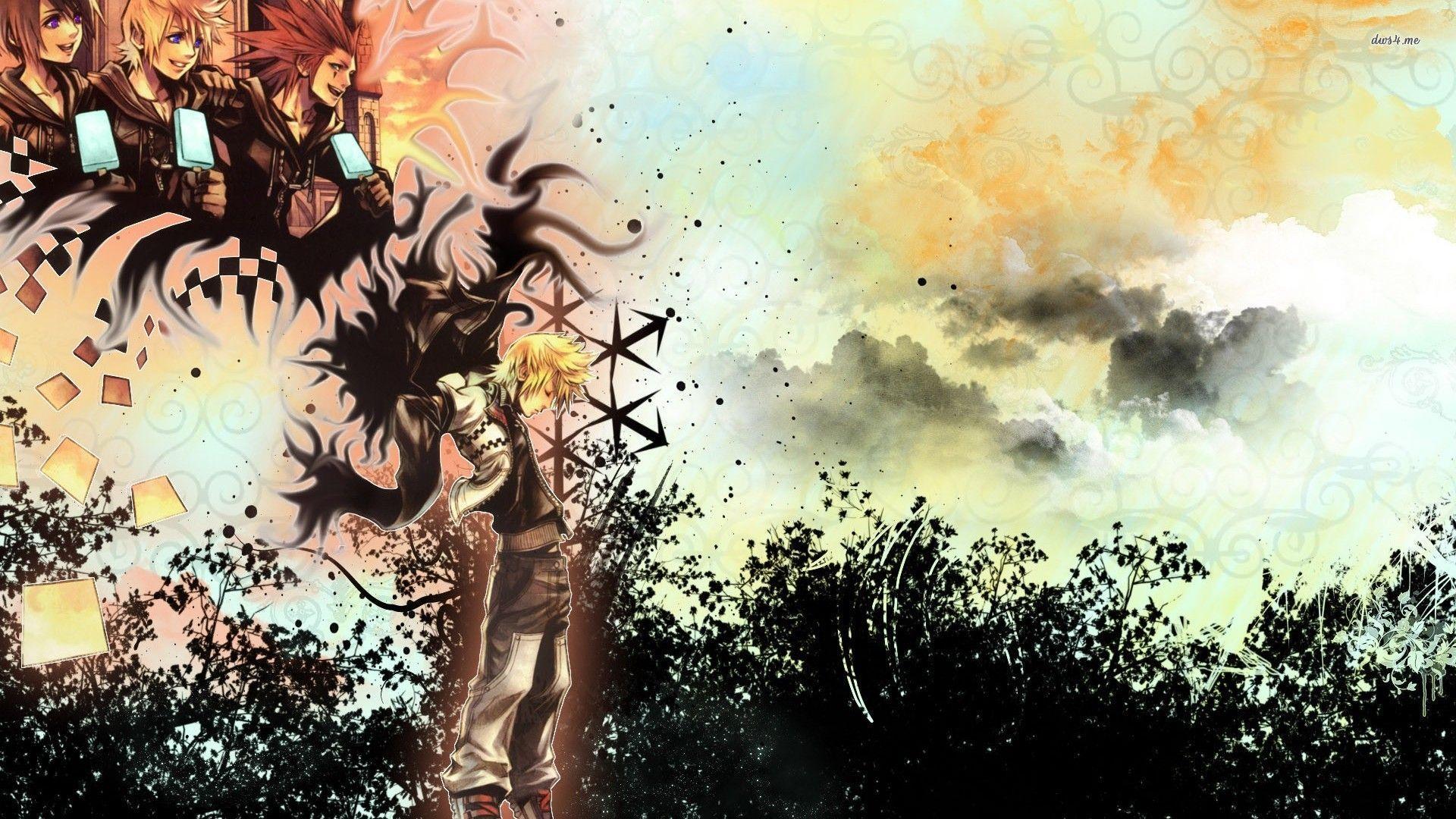 Kingdom Hearts Roxas Wallpapers Hd 1080p