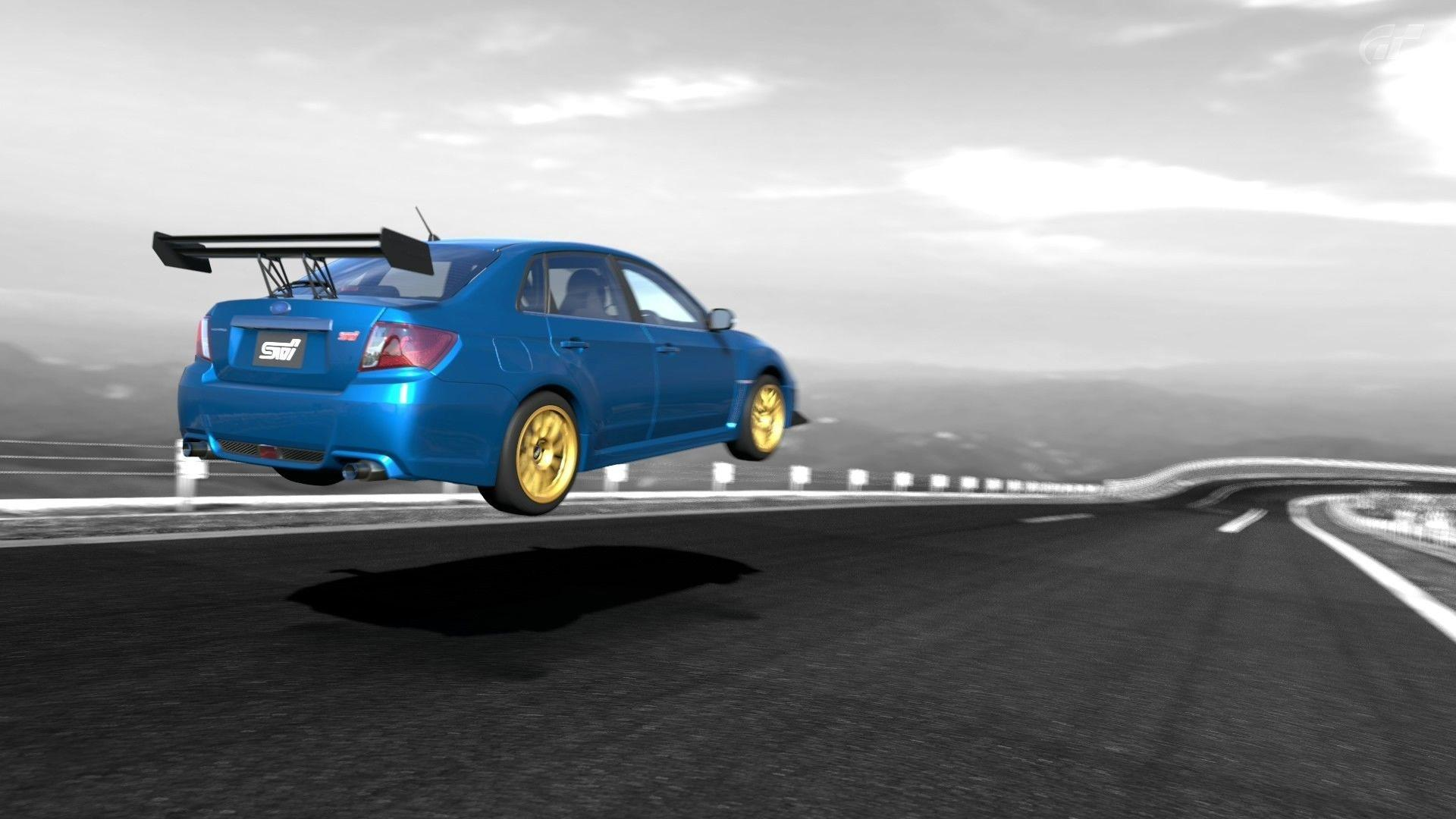 Subaru impreza wrx sti cars video games wallpaper | AllWallpaper.in ...