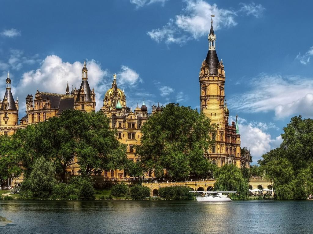 Schwerin Castle Germany Wallpapers