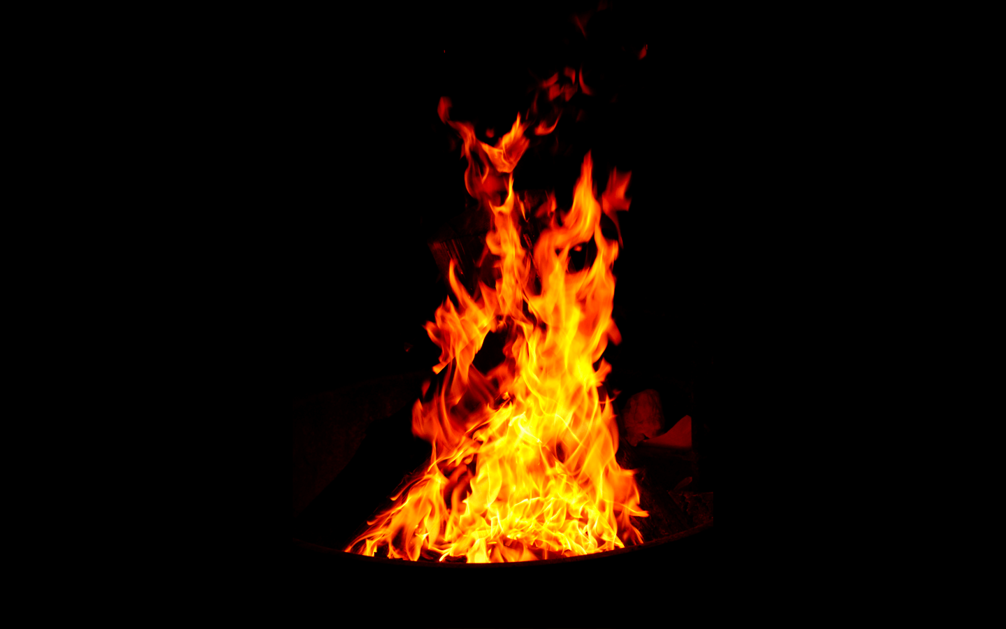 Fire Images On Black Backgrounds Wallpaper Cave