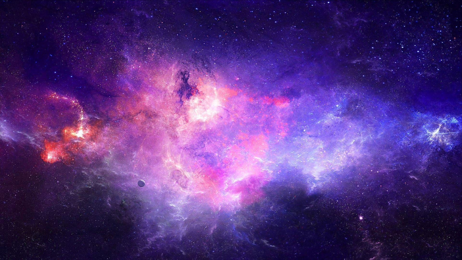Galaxy Wallpapers Purple