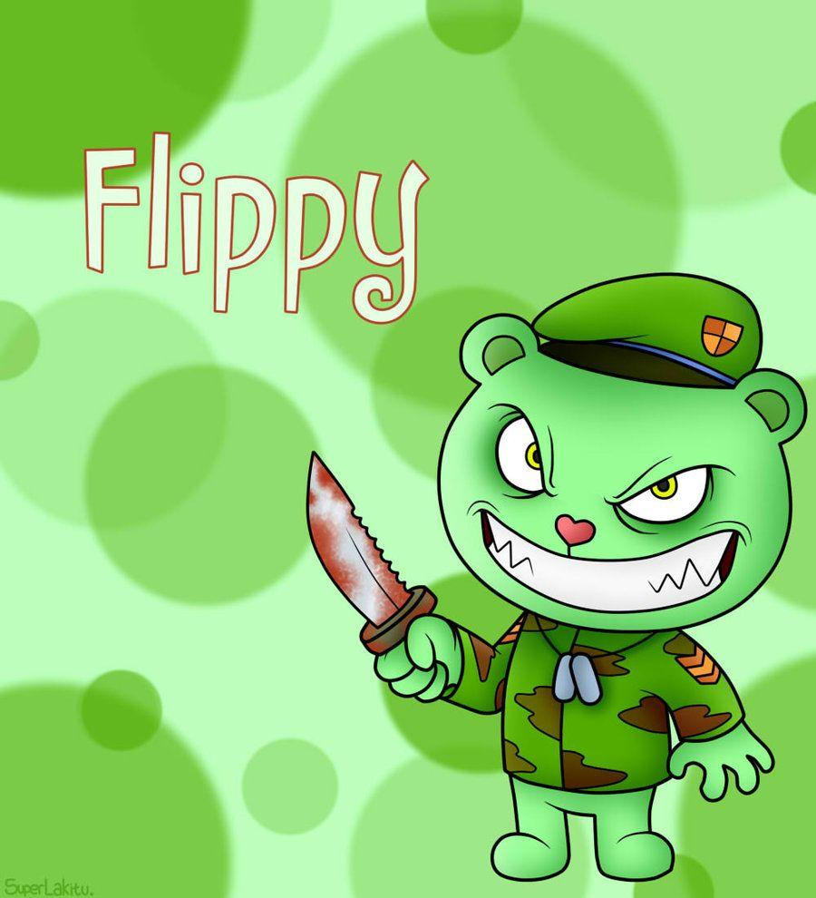 Happy Tree Friends Flippy Wallpapers Wallpaper Cave