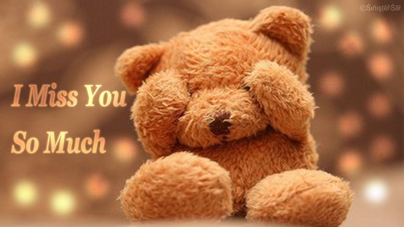 Teddy Missing You Wallpapers Wallpaper Cave