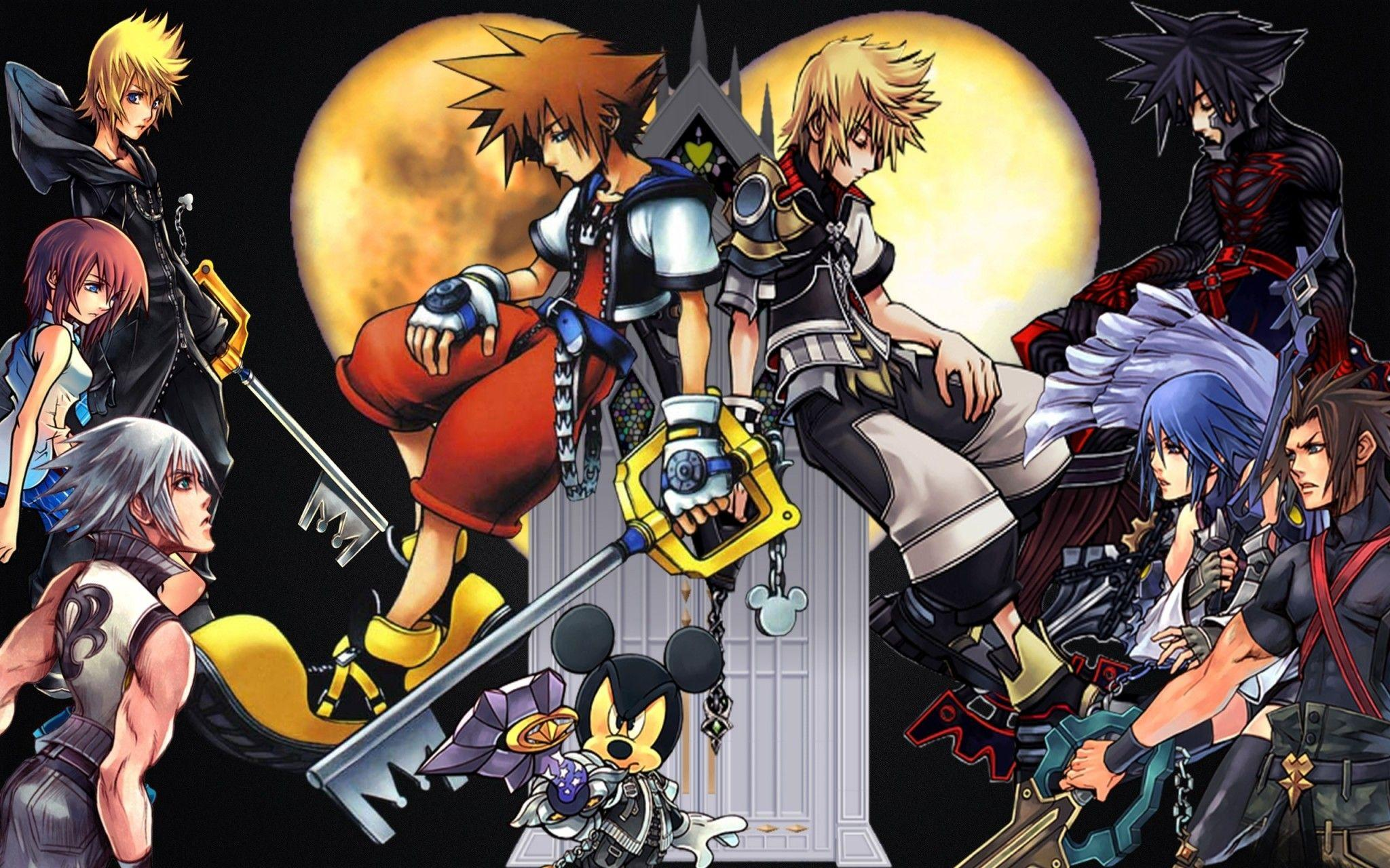 Free Kingdom Hearts Wallpapers Wallpaper Cave