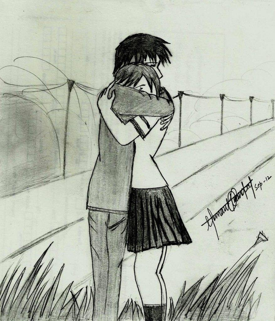 Cute cartoon couple sketches cute love drawings pencil art hd