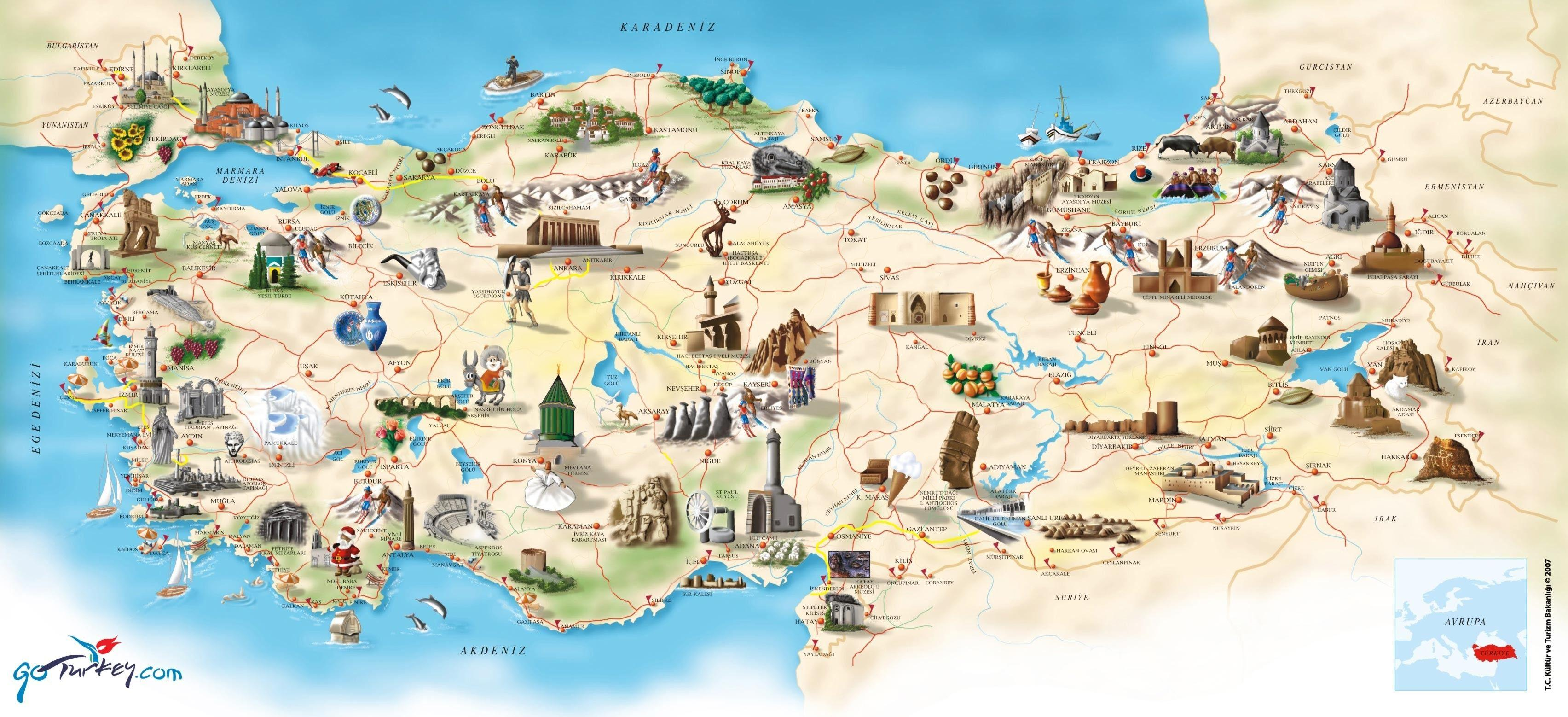 Turkey maps wallpapers