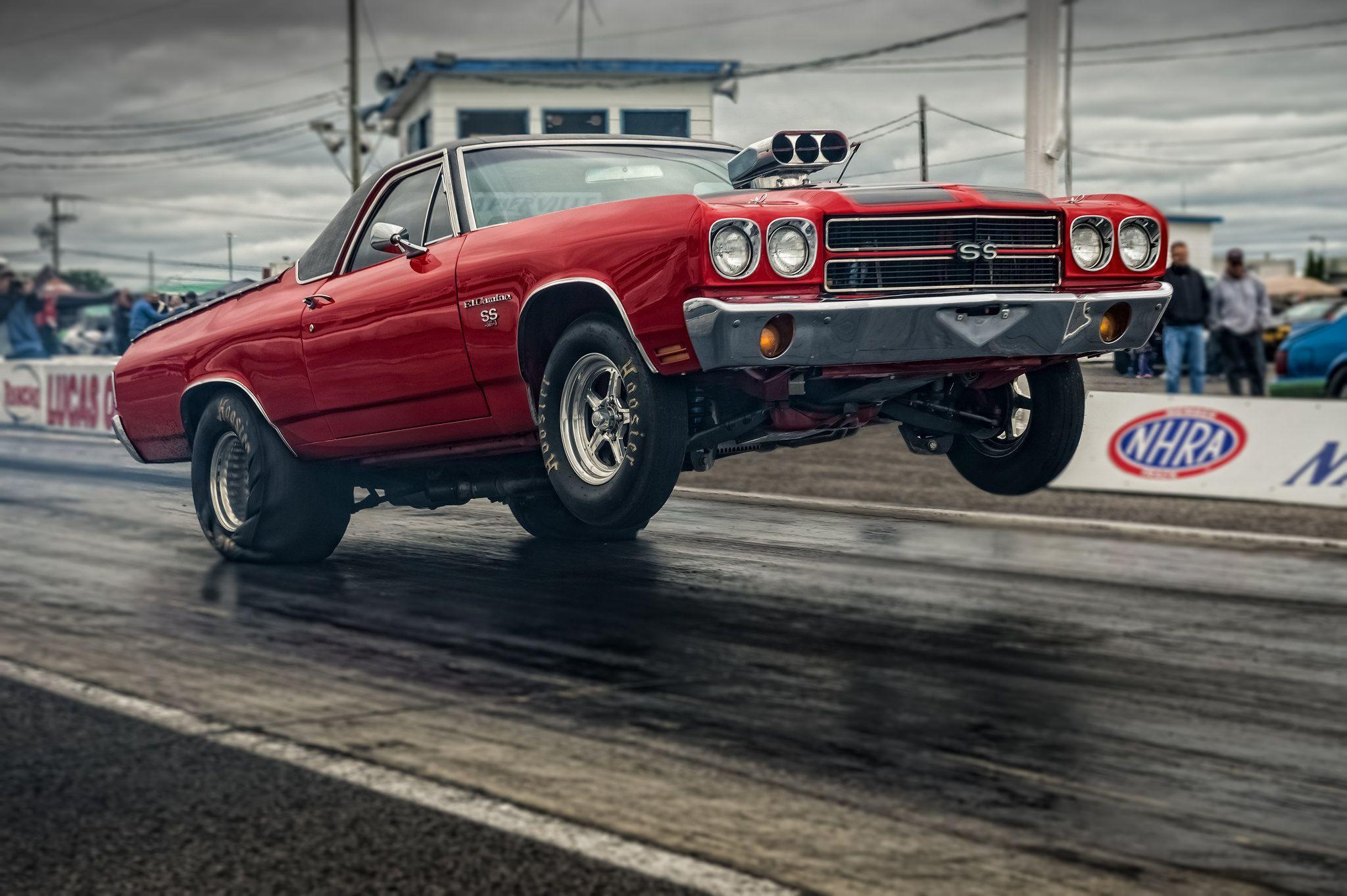 Download wallpapers chevrolet, el camino, ss, muscle car, muscle