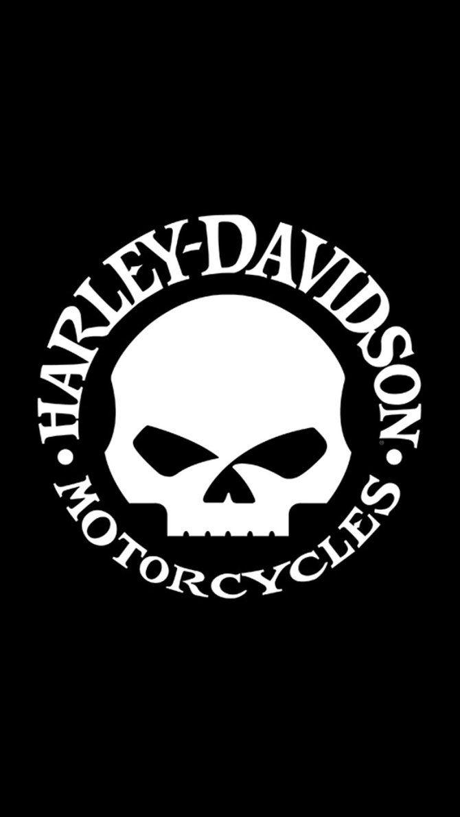 Harley Davidson Skull Wallpapers Wallpaper Cave