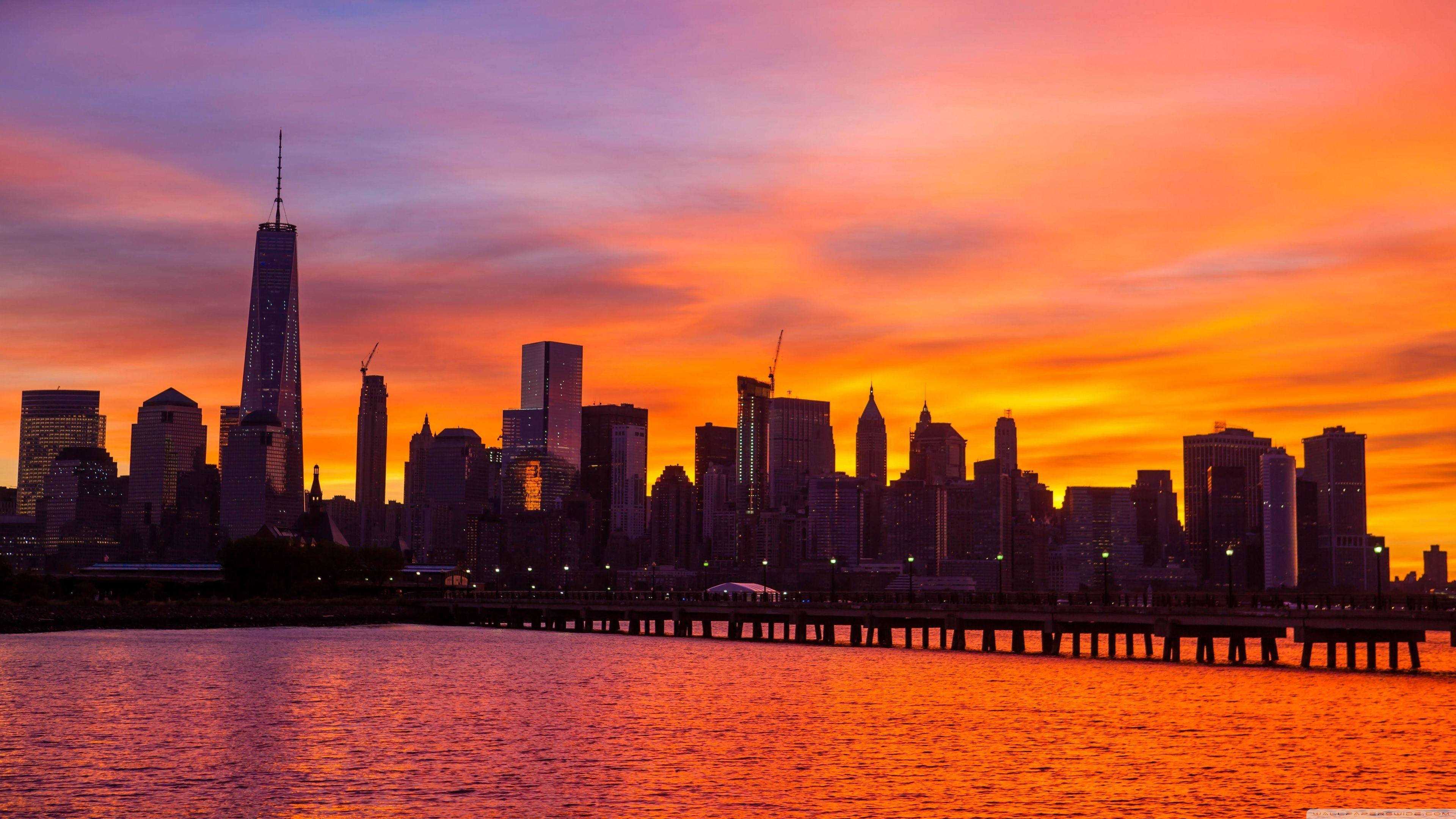 New York City Skyline Wallpapers Widescreen - Wallpaper Cave