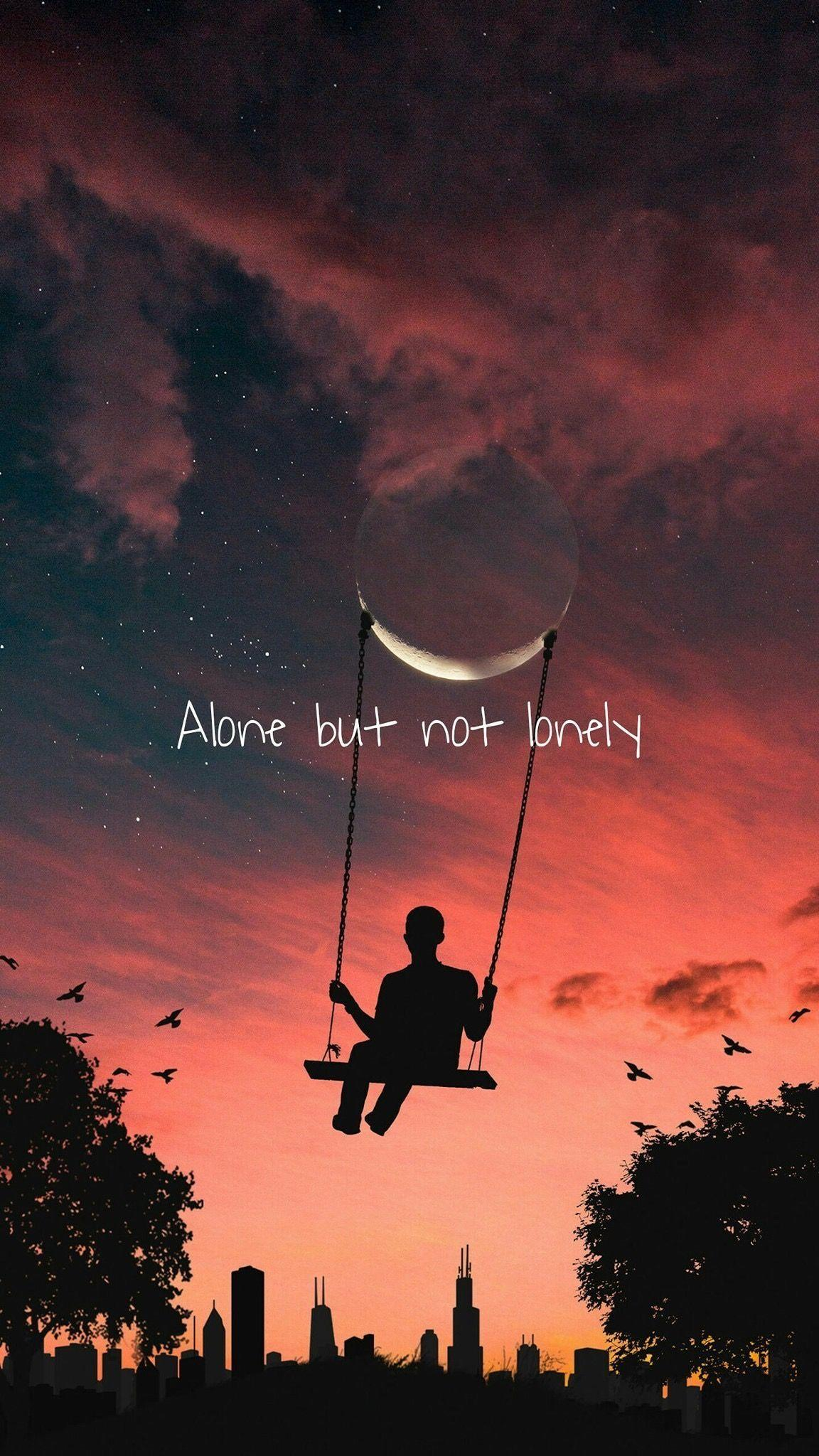 Alone But Happy Wallpapers - Wallpaper Cave