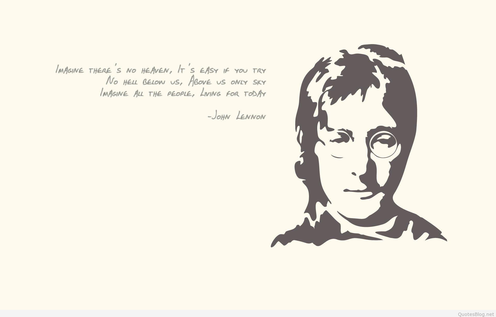 Top John Lennon Quotes Images and wallpapers