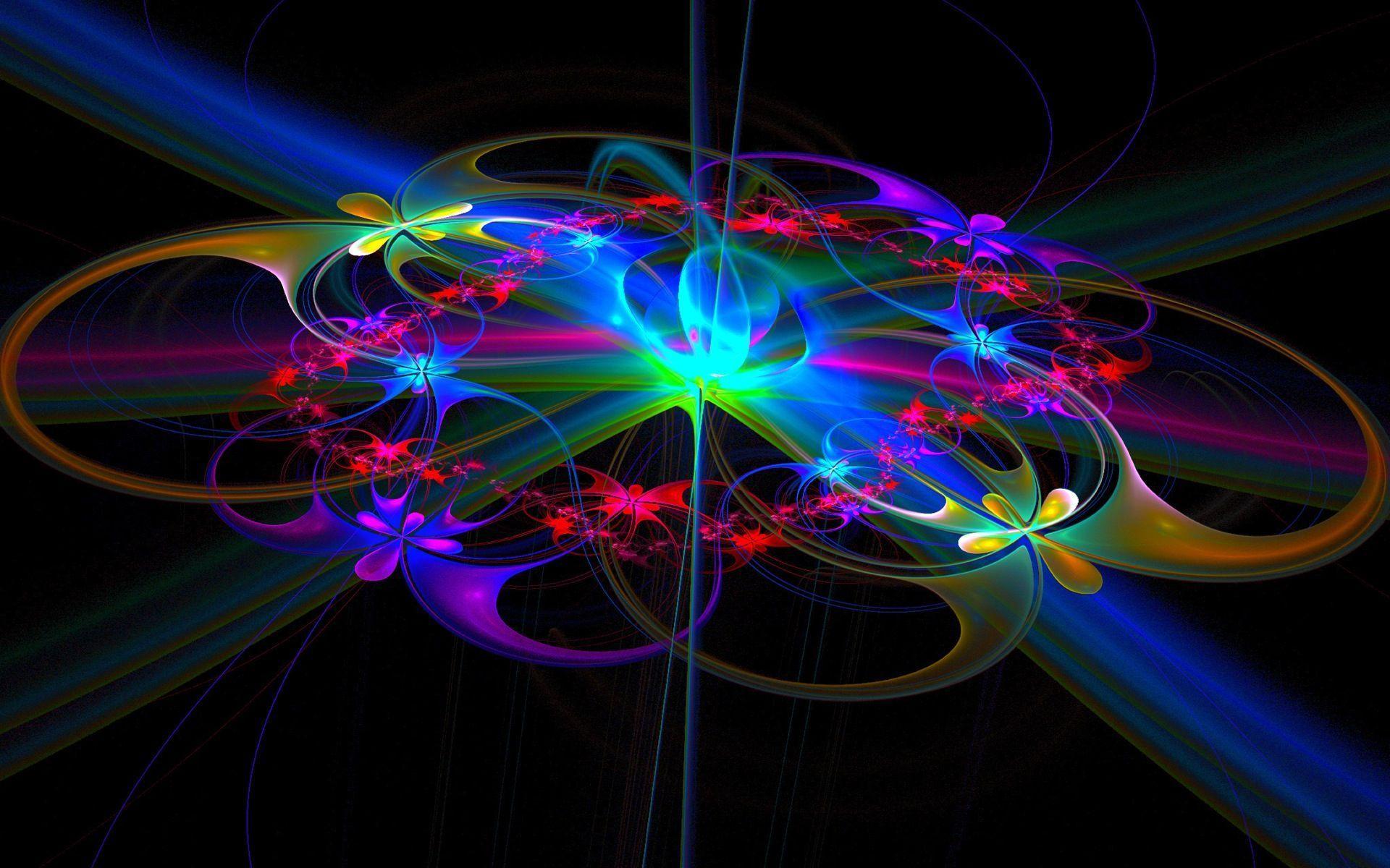 Neon Rainbows Desktop Wallpapers Wallpaper Cave